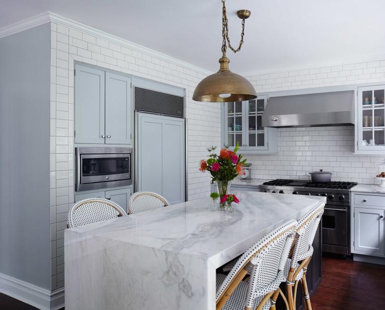 Wilmette modern kitchen by Jen Talbot Design