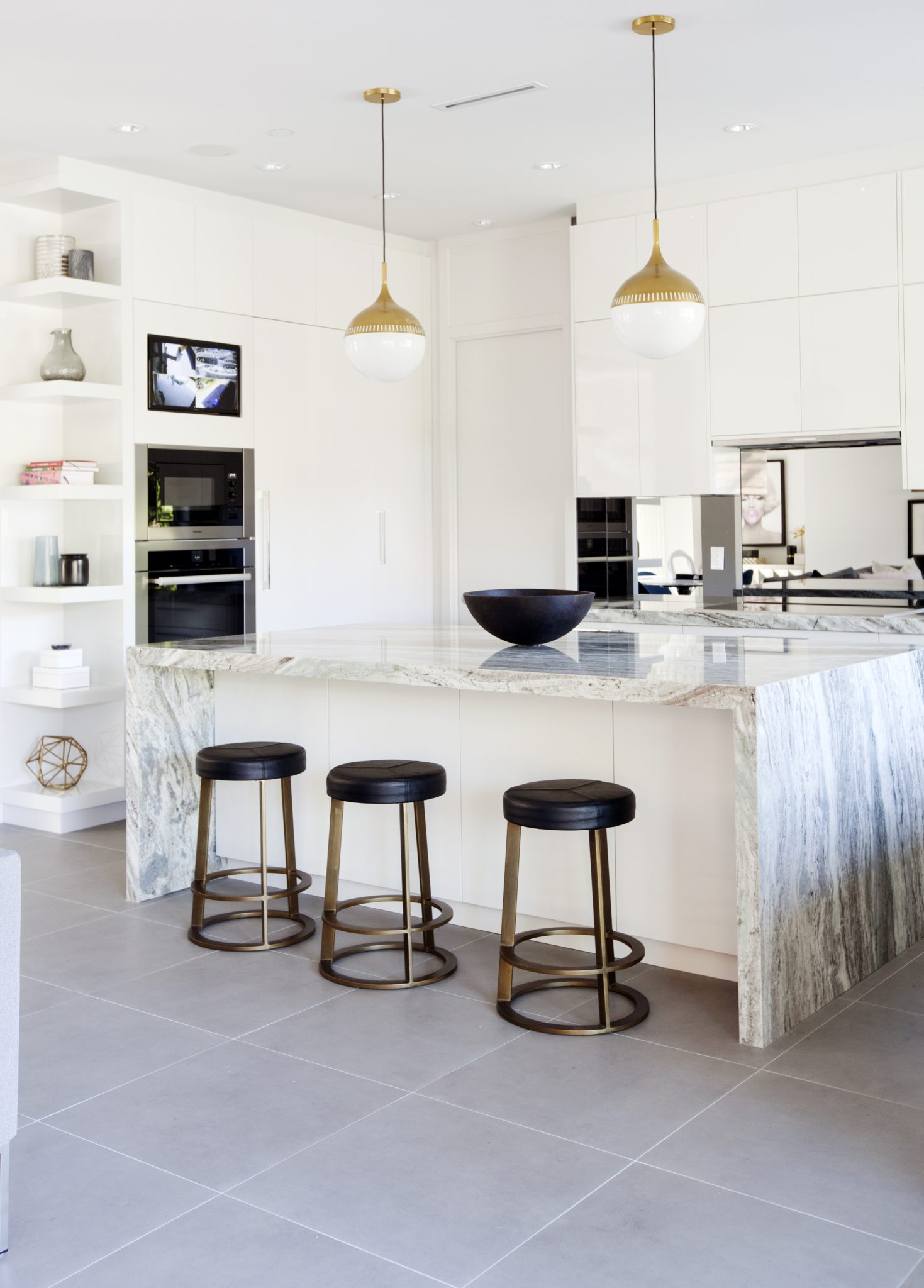 A bright andairy kitchenby Stephanie Brown Inc.