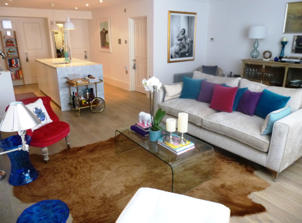 Notting Hill living room by Uriburu Interiors