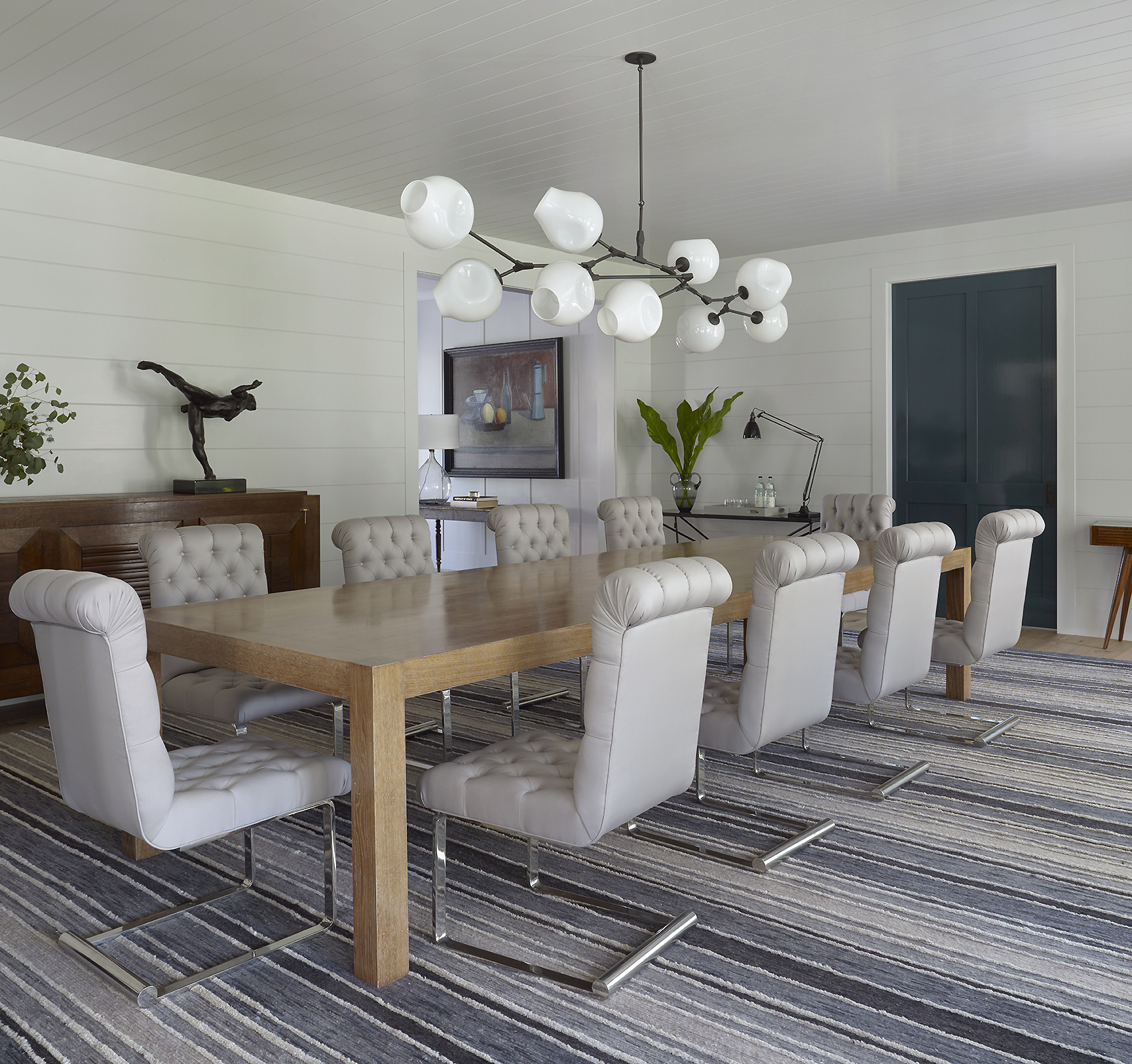 East Hampton Dining Room by Dan Scotti Design