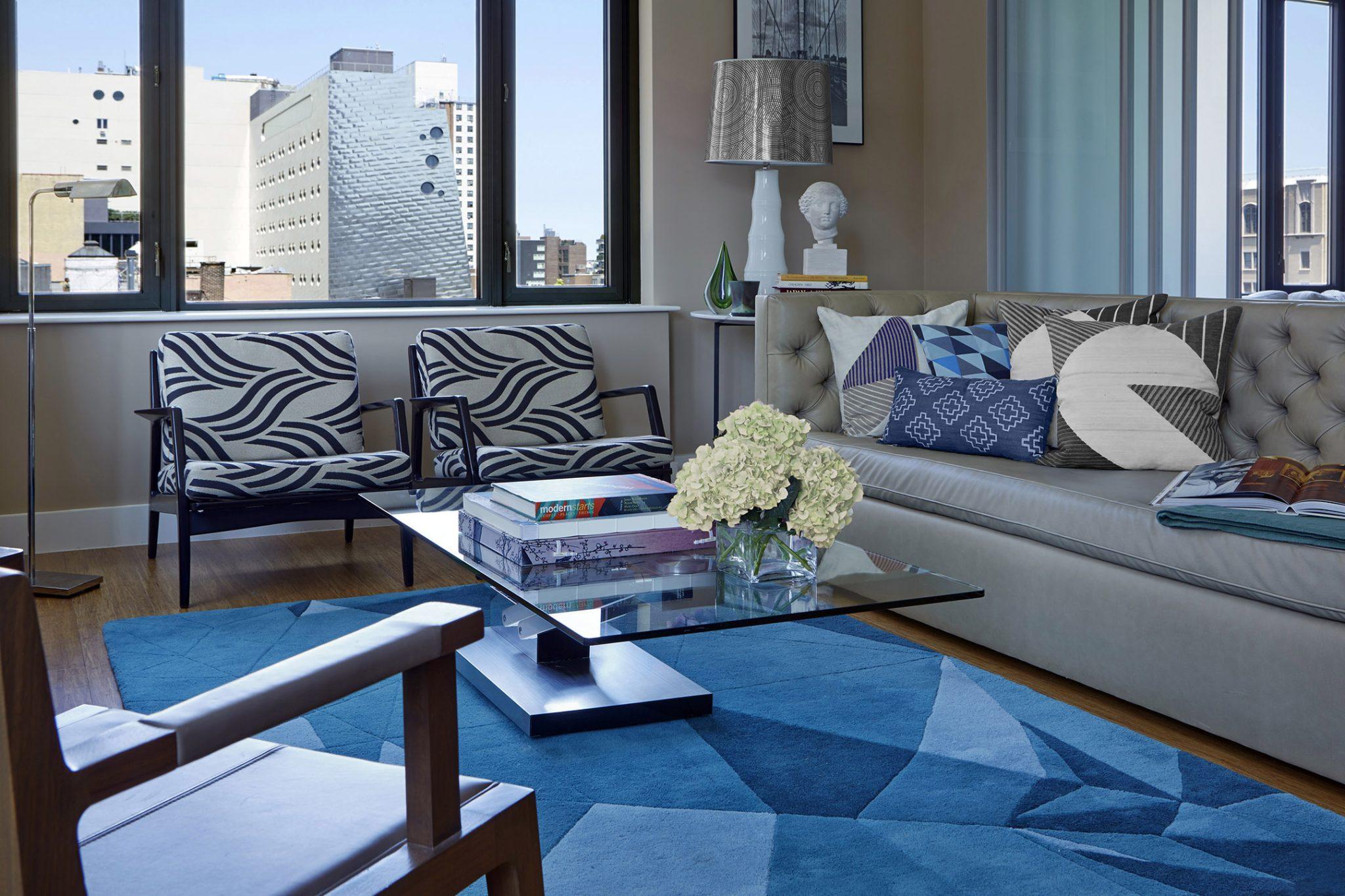 Upper East Side - living room by Jarret Yoshida