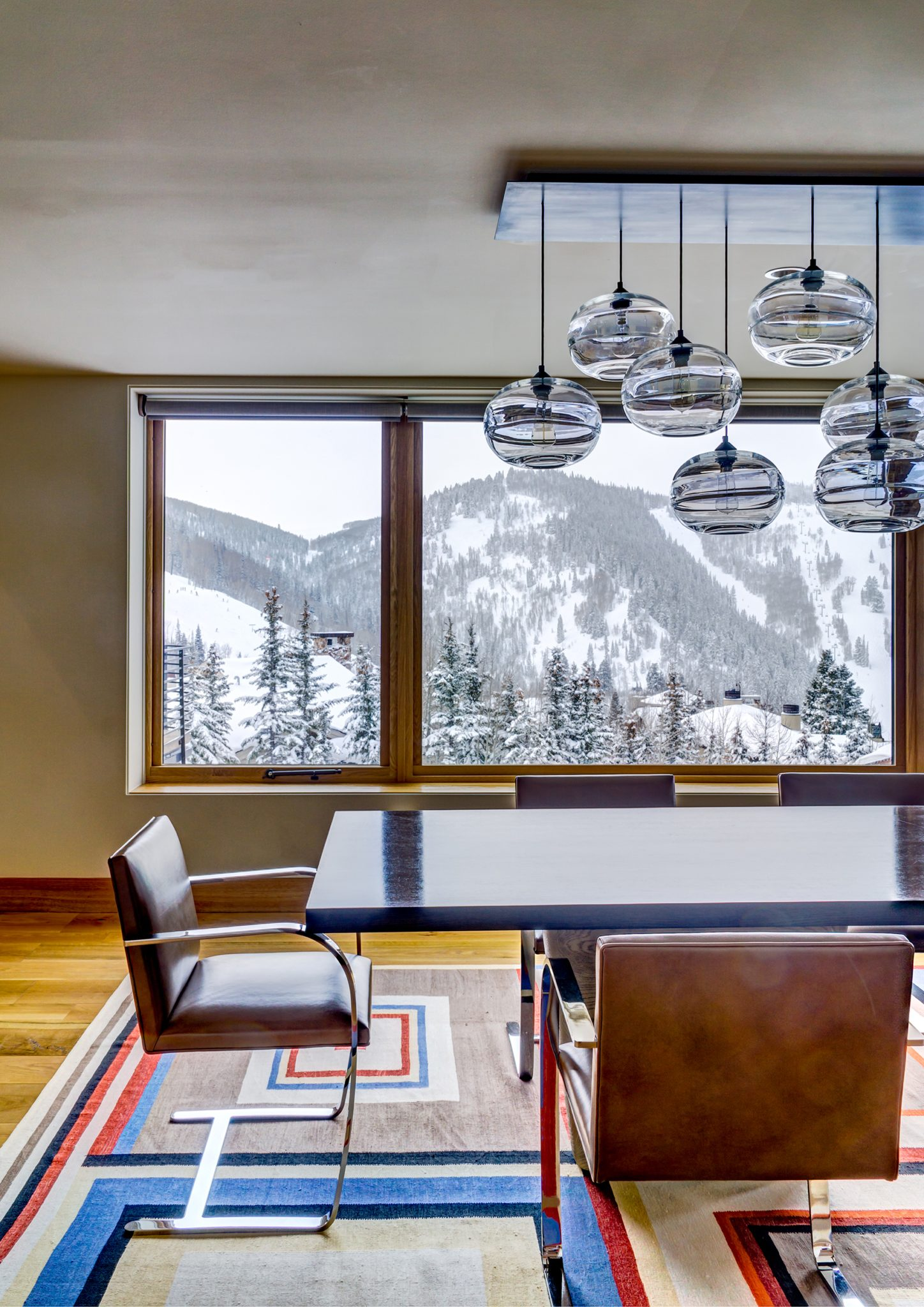 Park City, Utah Dining Room by Tommy Chambers Interiors, Inc.