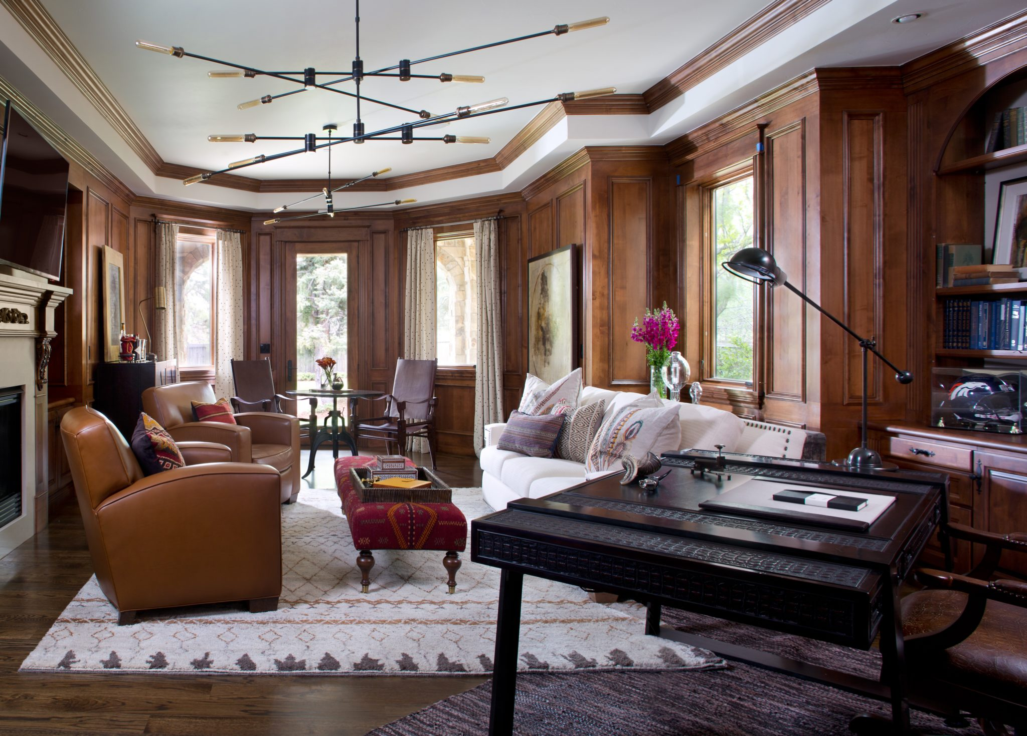 Indigenous Update Home Office by Ashley Campbell Interior Design