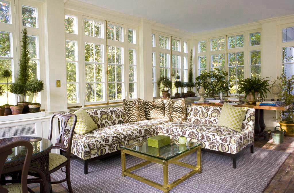 Sun porch by Janet Simon, Inc.