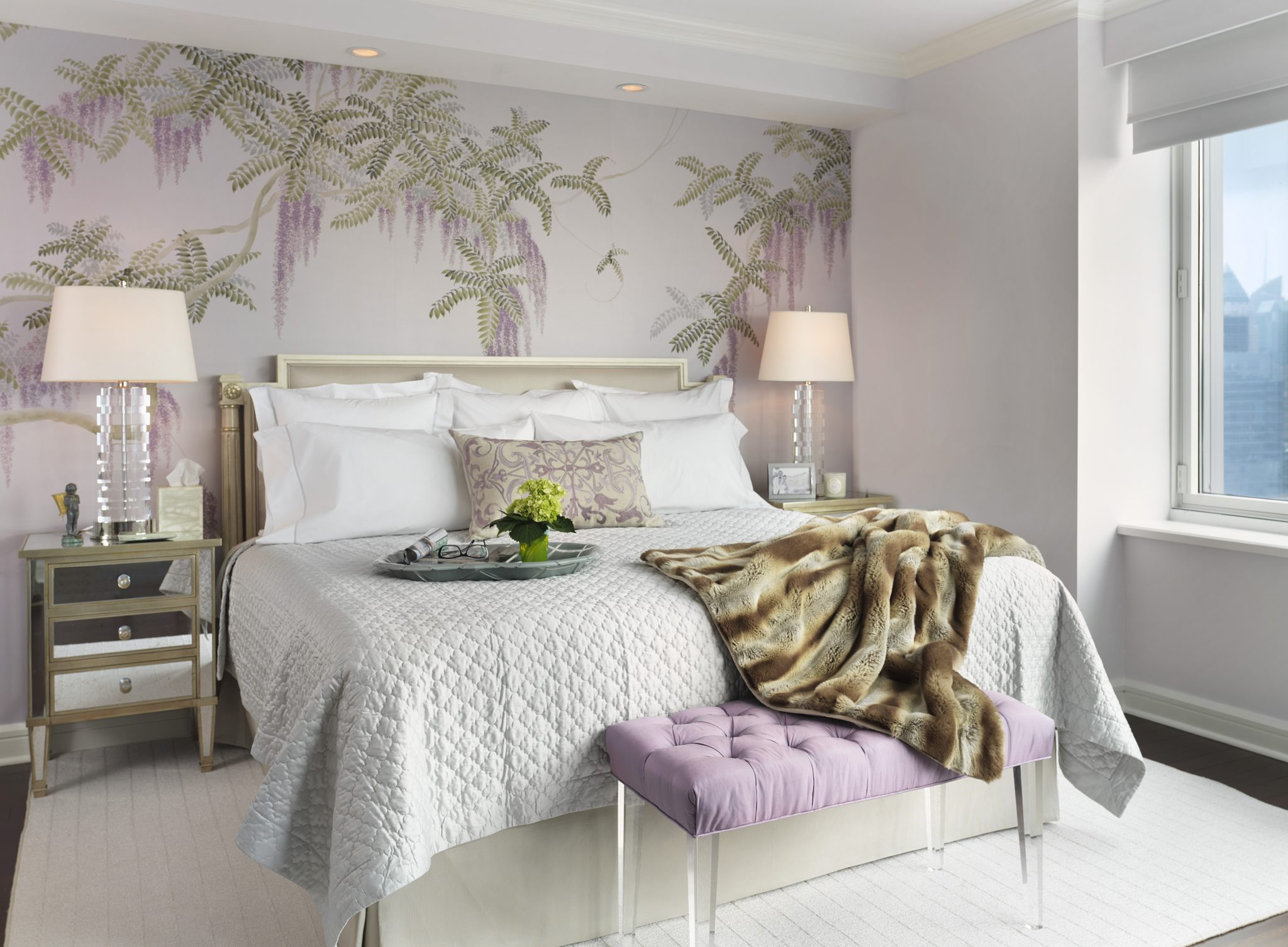 Penthouse I, bedroom by Santopietro Interiors