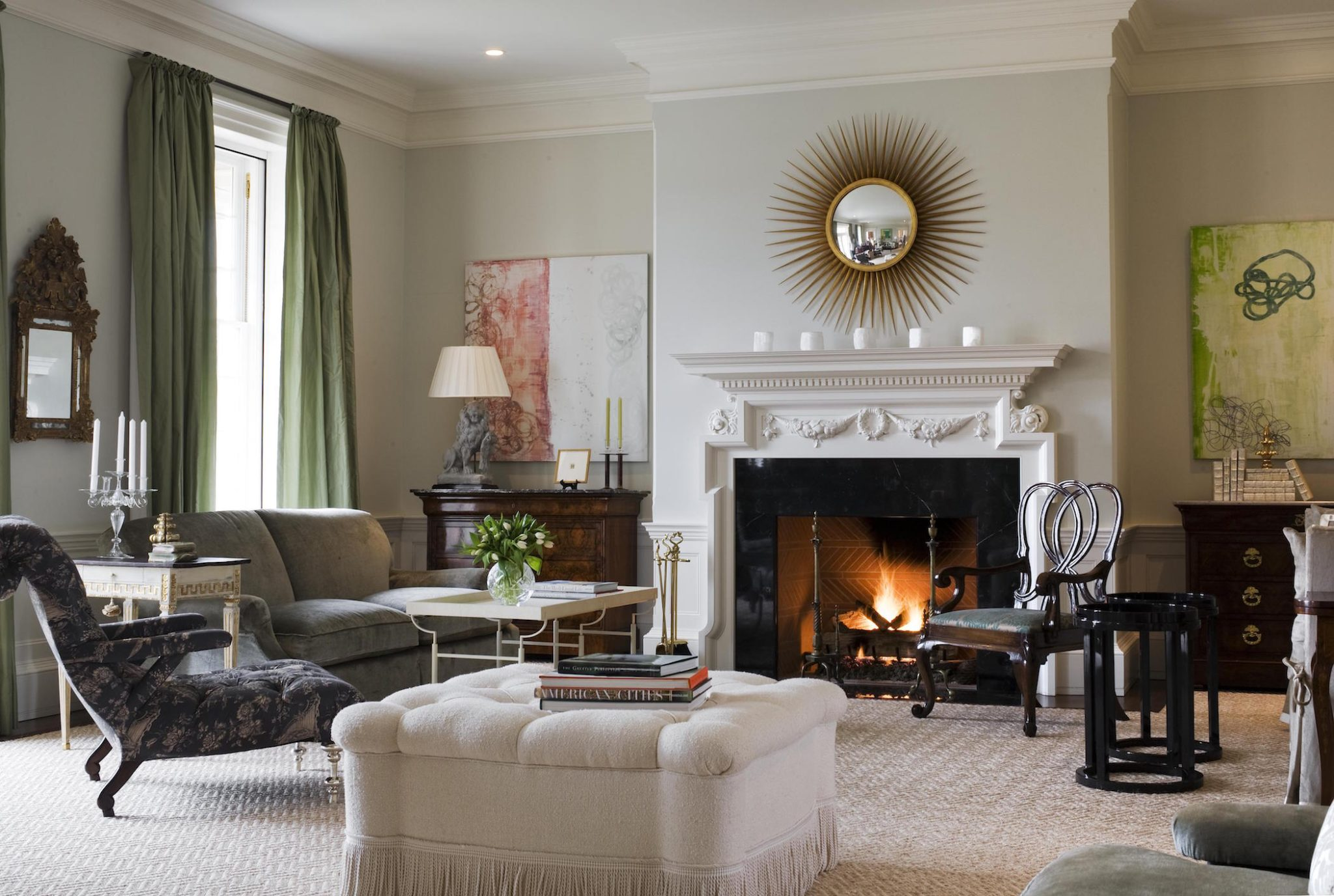 Living Room by Gauthier~Stacy Inc.