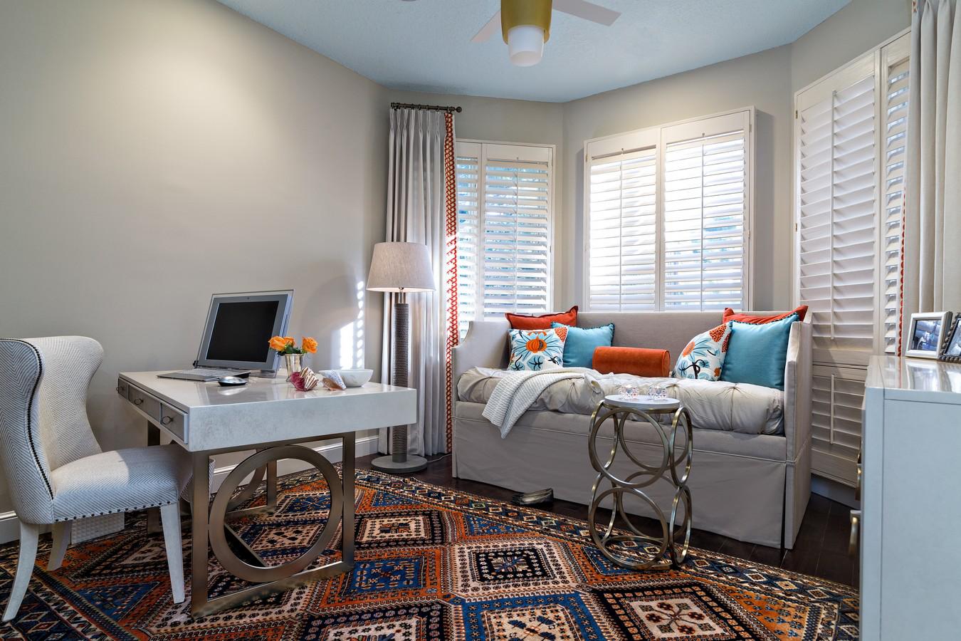 Office/getaway - Boca, Florida,by Hubley Design Interiors