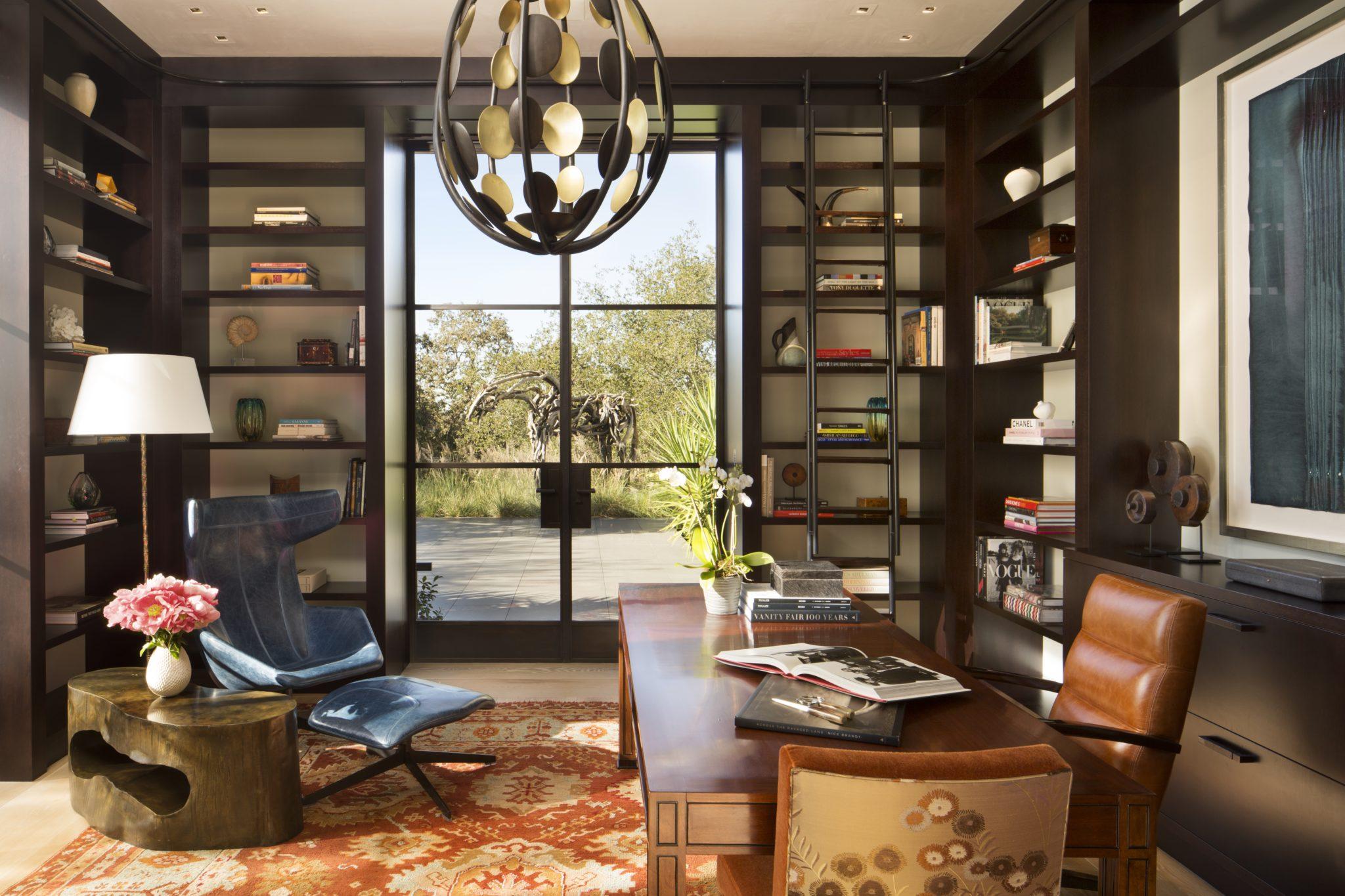 Sculptural Modern- Office by Kendall Wilkinson