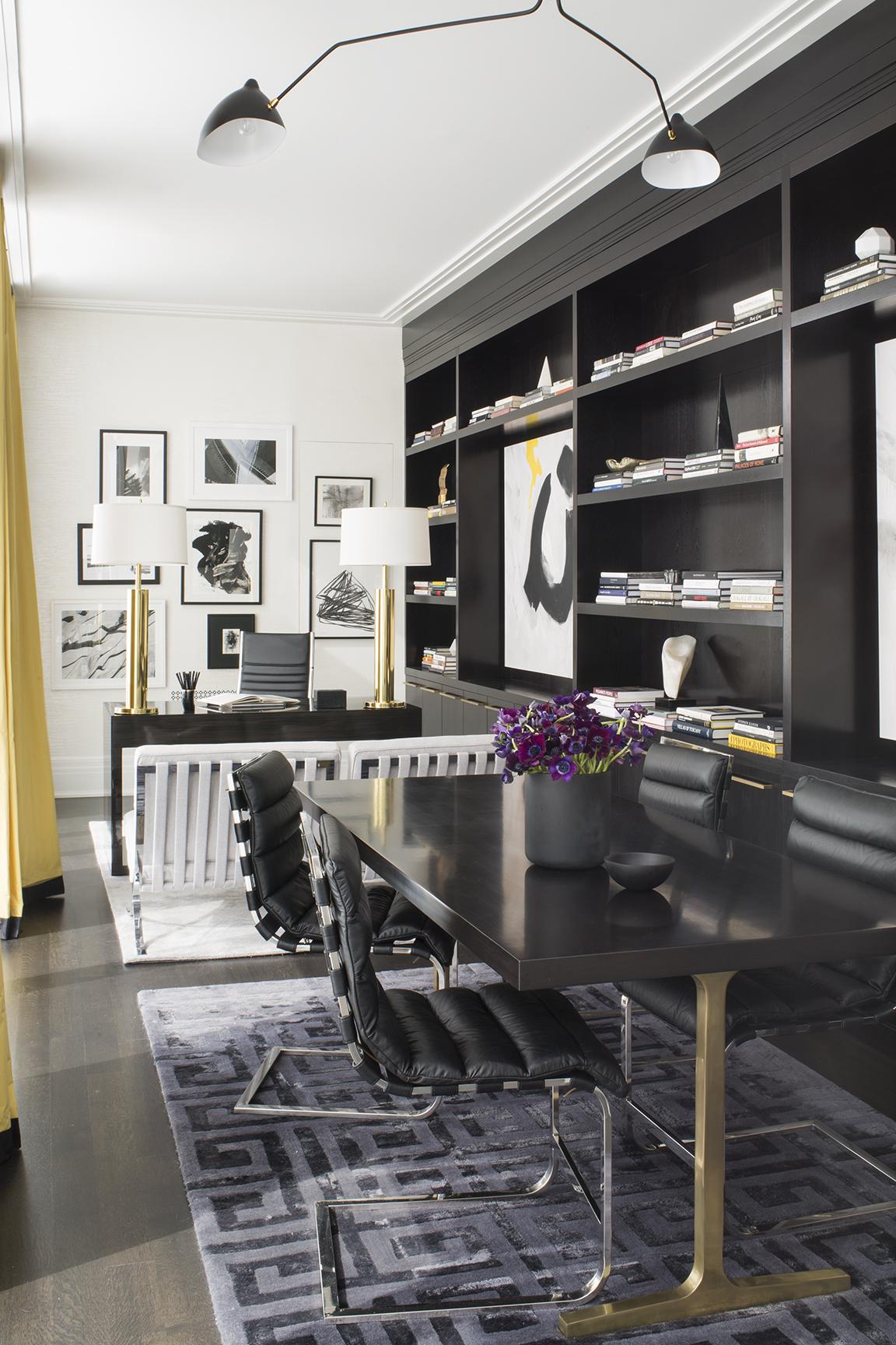 Urban Elegance - Home Office by Wendy Labrum Interiors
