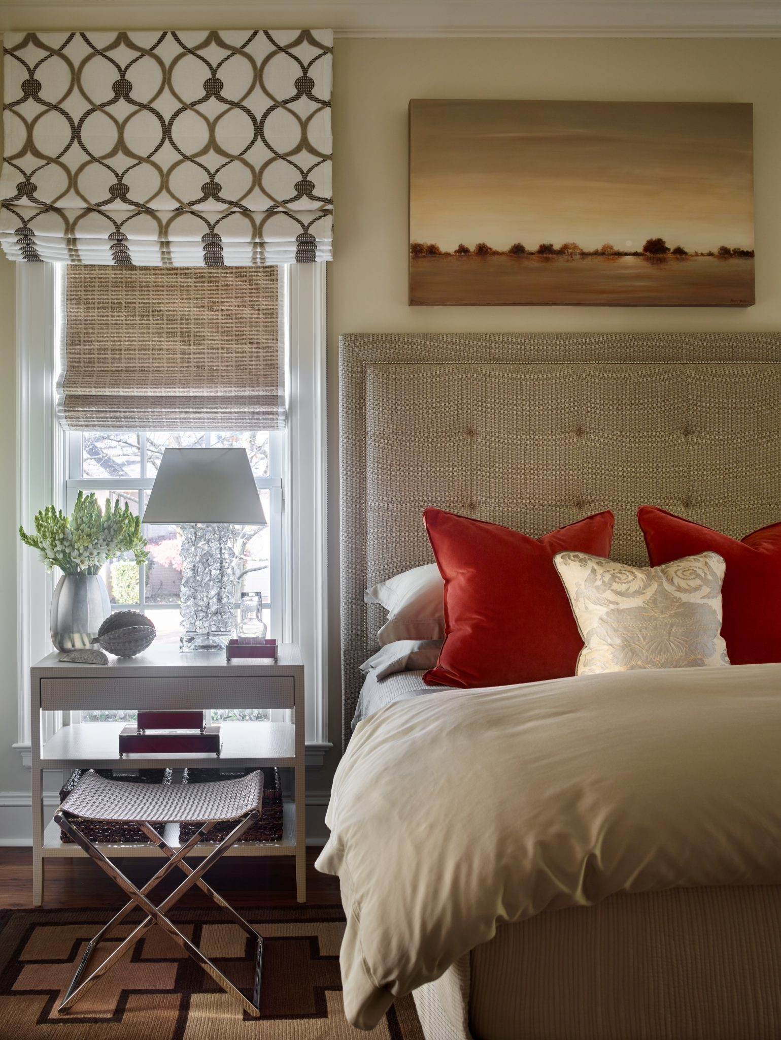 Timeless Renewal I, Guest Bedroom by SAVAGE Interior Design