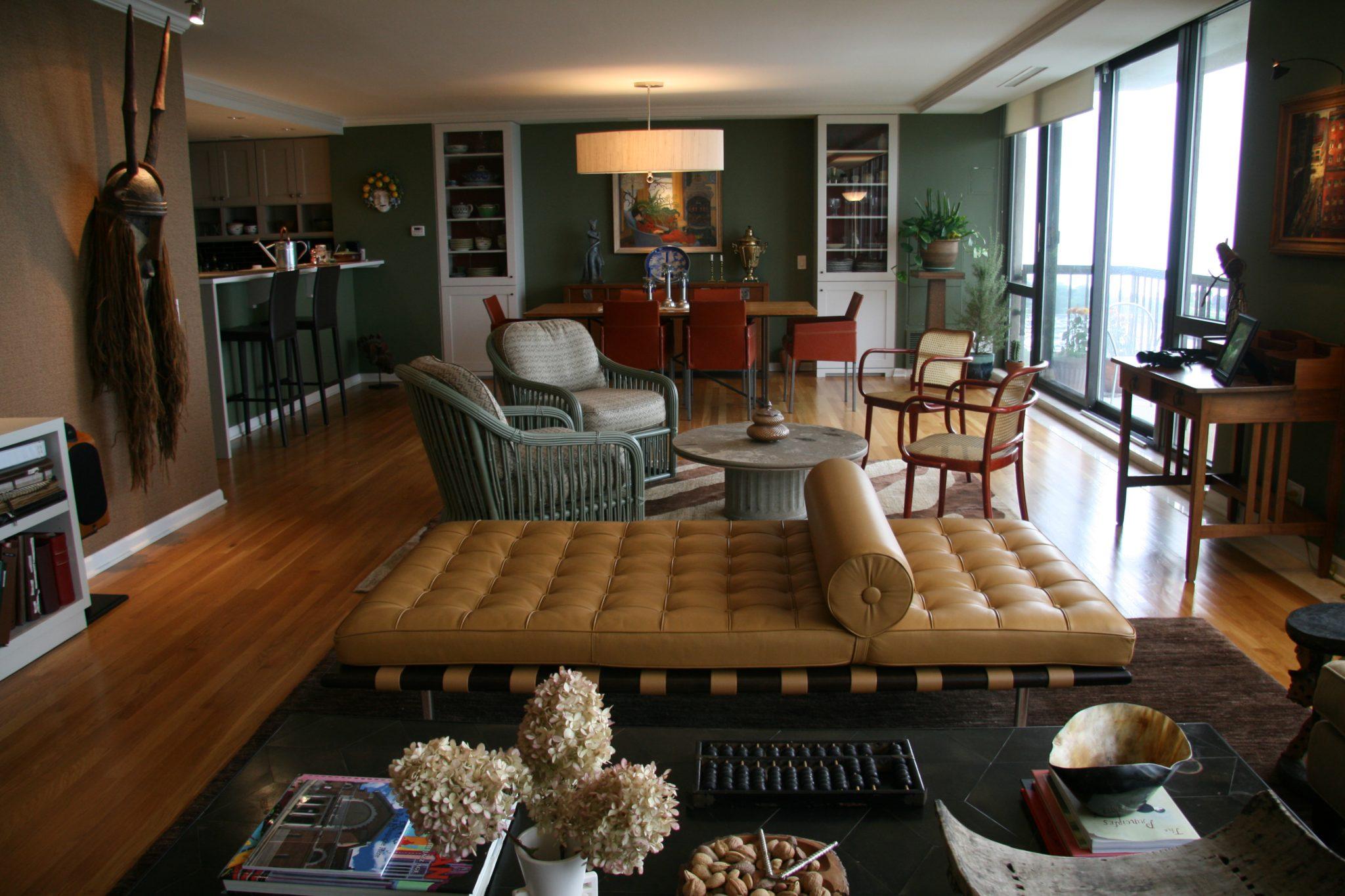 Lincoln Park penthouseby Mia Rao Design