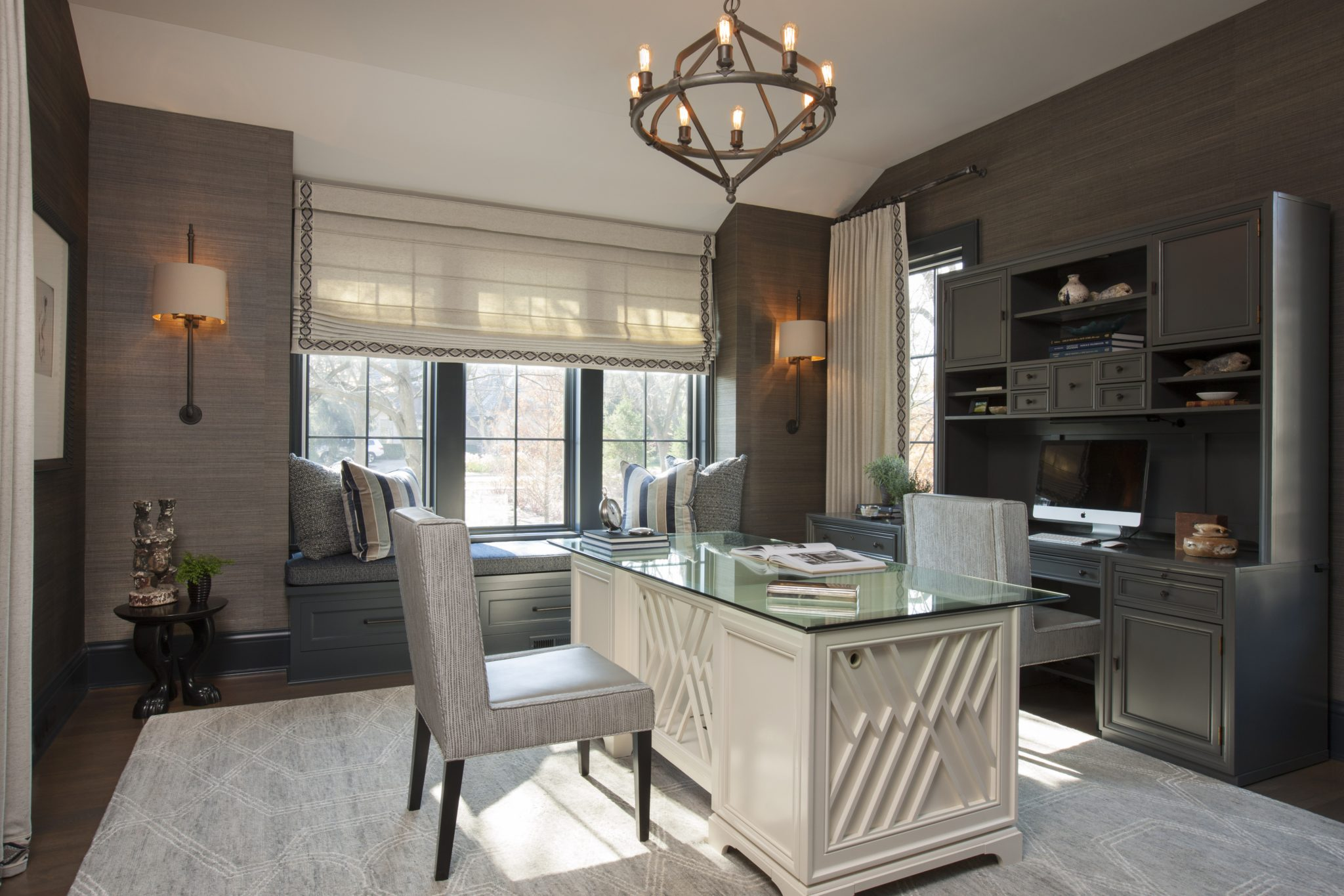 Hinsdale - Home Office by Michael Abrams Interiors