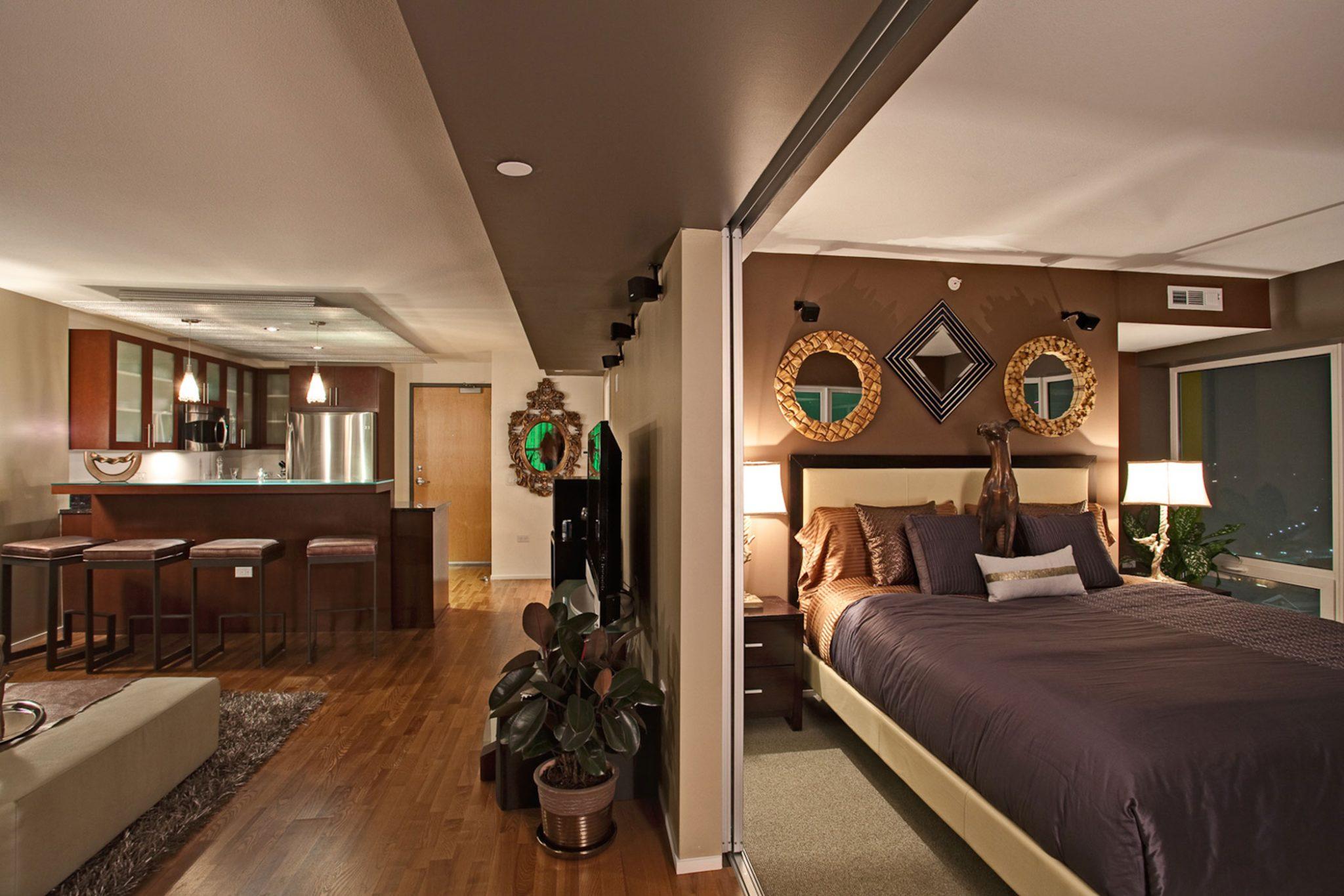 Urban Contemporary Spaces, Reno NV, luxury condominium by Aspen Leaf Interiors, Inc.