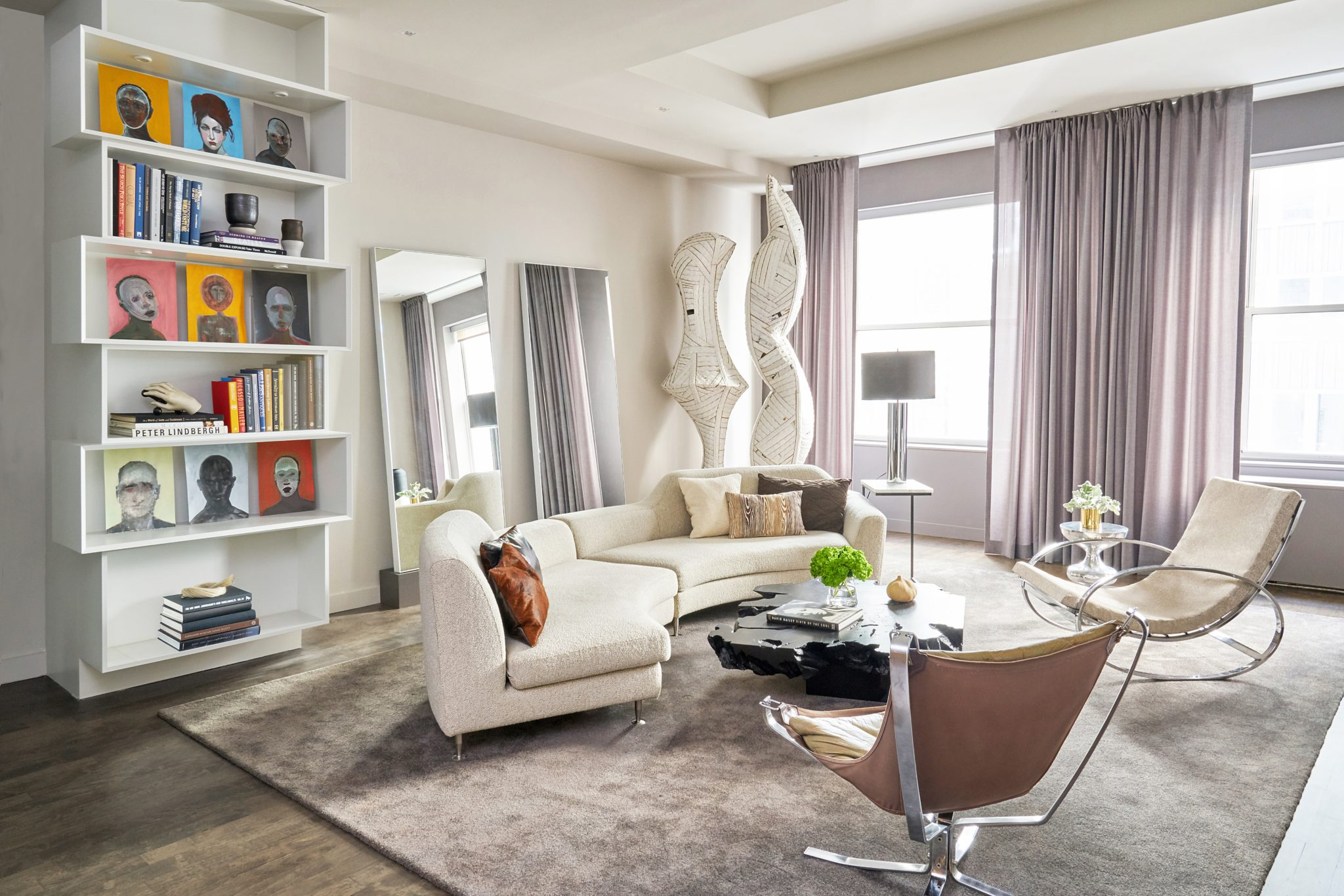 NEW YORK CITY PIED-A-TERRE by April Sheldon Design