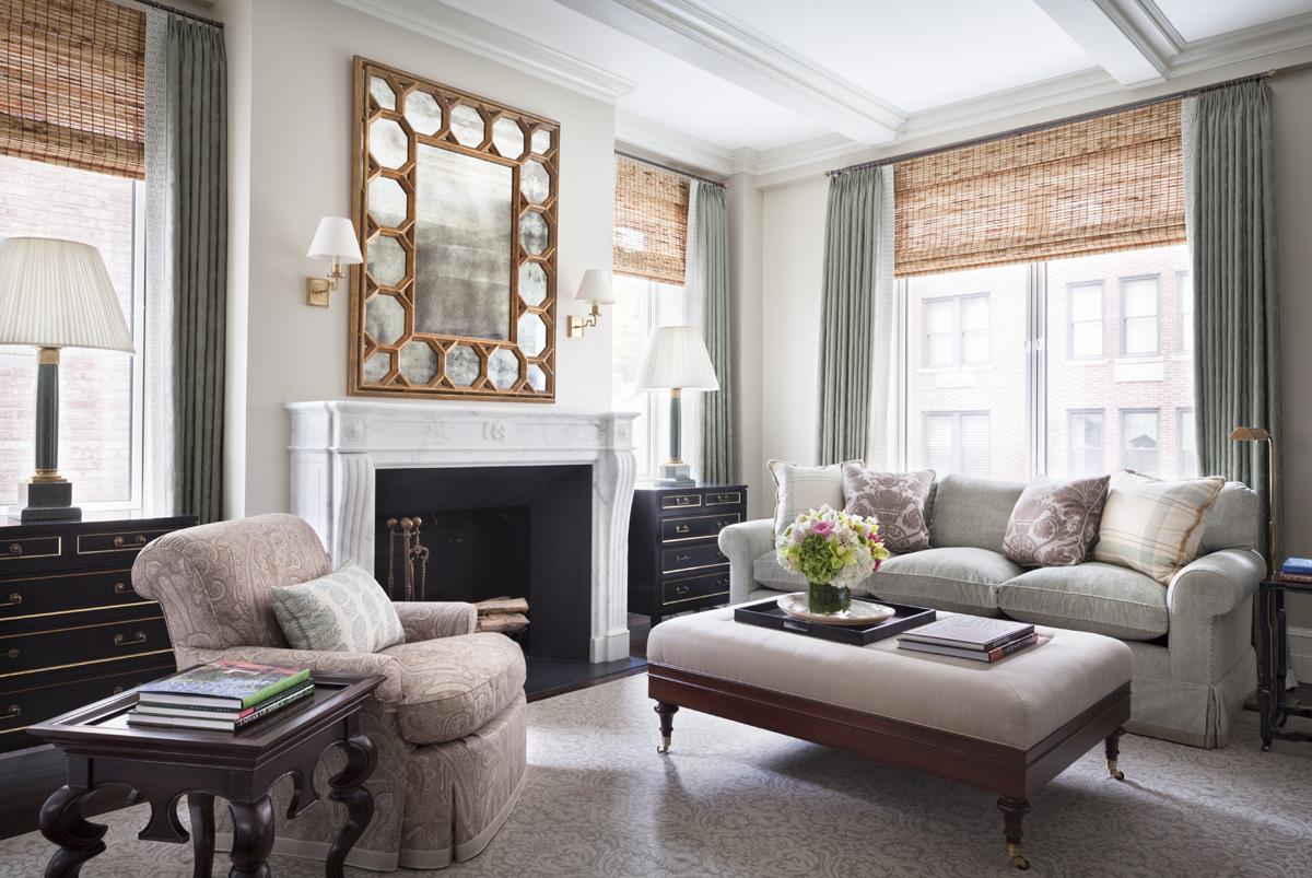 Living Room by Alexa Hampton