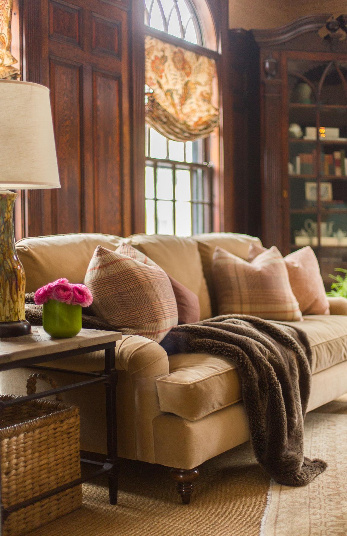 Living Room by Tiffany Leblanc of LeBlanc Design, LLC