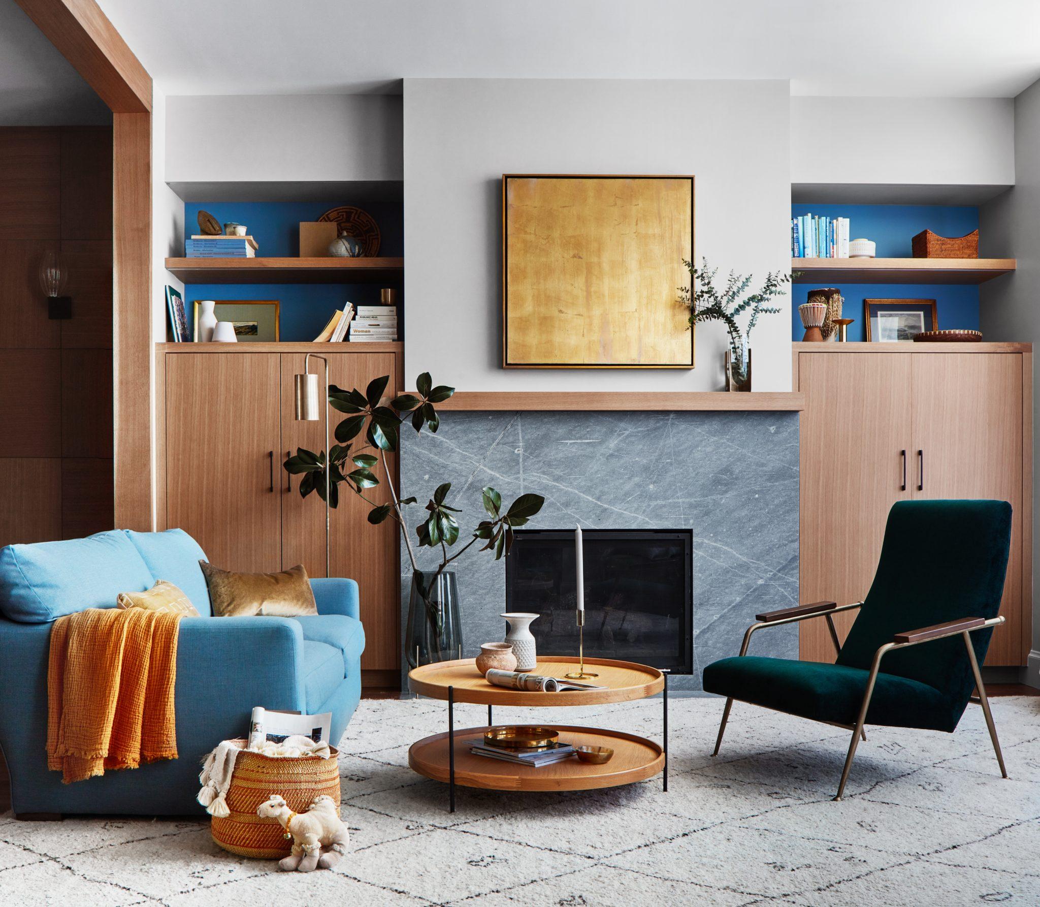 25th Street - Living Room by Staprans Design