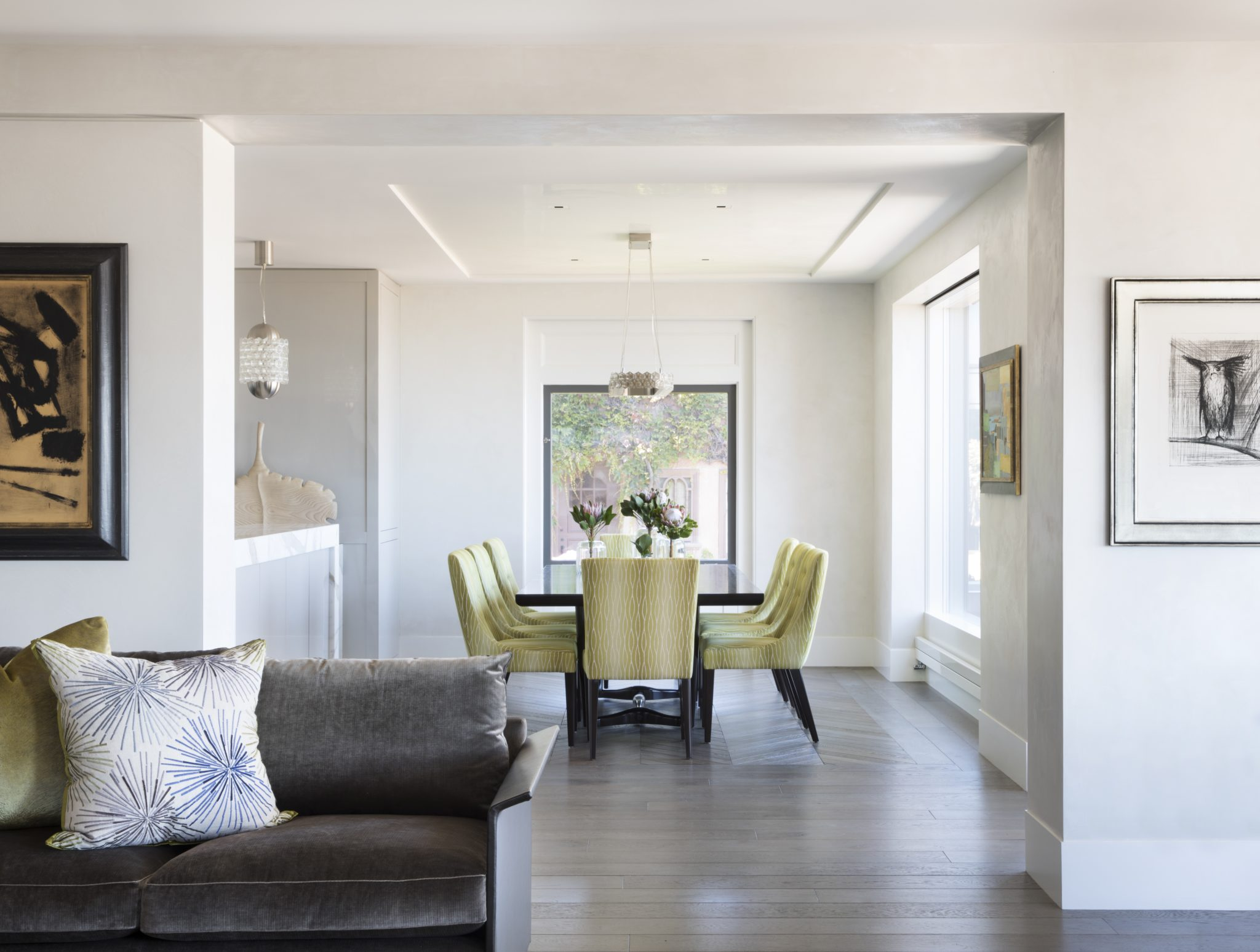 Open-concept floor plan - family home with a view by Kendall Wilkinson