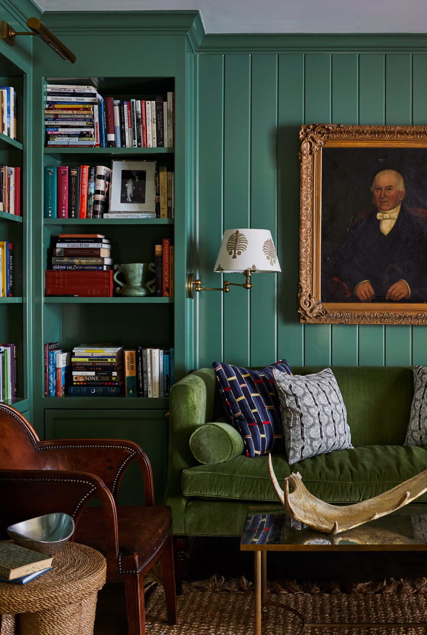 """Green Walls   Green walls communicate sophistication. At Farrow & Ball's first studio, where the famed luxury paint brand invented many of their original colors, the walls were painted a rich, deep green that soaked up sunlight. In other spaces, such as the living room pictured above, green has provided spaces with a grown-up elegance that still feels novel. """"Green is one of those colors that people are most comfortable with because it's so abundant in nature,"""" says designer Meredith Ellis, founder ofMeredith Ellis Designin Dallas, Texas, as well as a direct-to-the-trade brand called James Showroom.""""It can still be a little edgy, dramatic, or bold, depending on what you pair with it,""""she says. """"It's a classic, and one not easily tired of, so people don't fear the commitment or eventual regret of painting an entire room green."""""""