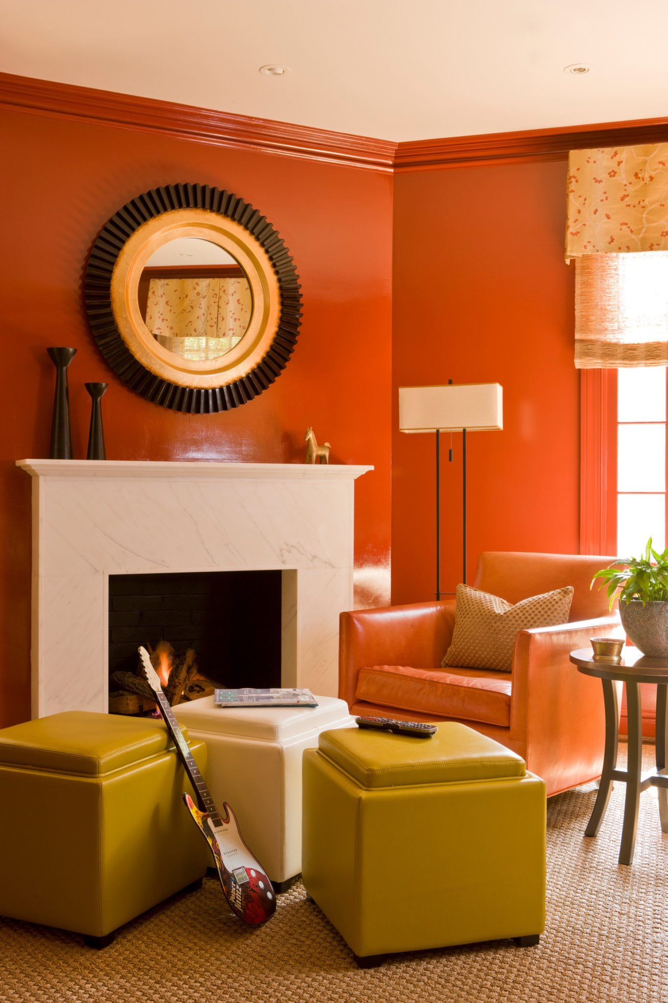 NW Washington Family Room by Kathryn Ivey Interiors