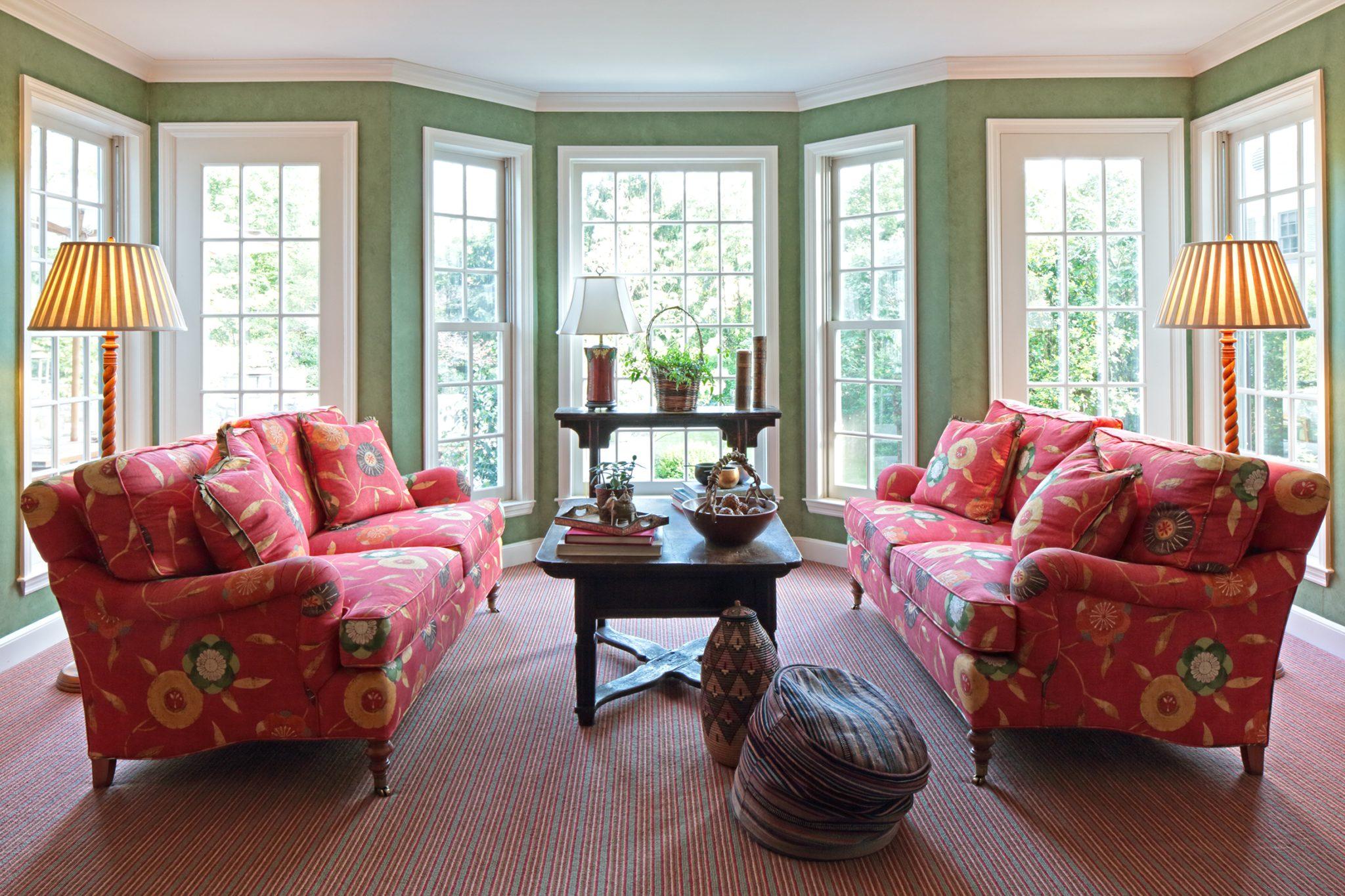 Family Room Seating by Carol Flanagan Interior Design