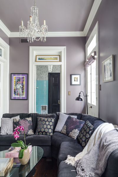 French Quarter Cottage Family Room by Eclectic Home