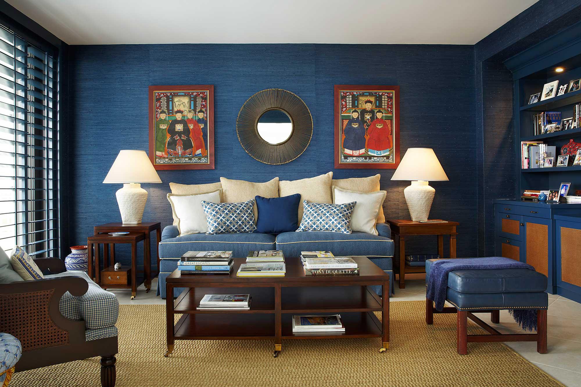 Palm Beach Ocean View Apartment by Annie Santulli Designs