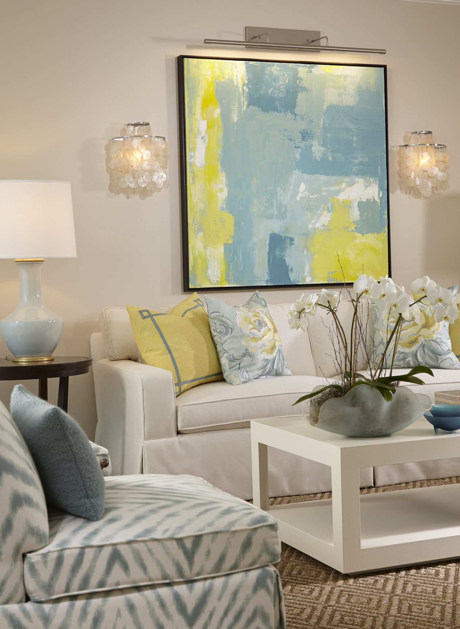 Watercolours - Living Room by Pure Design of Naples