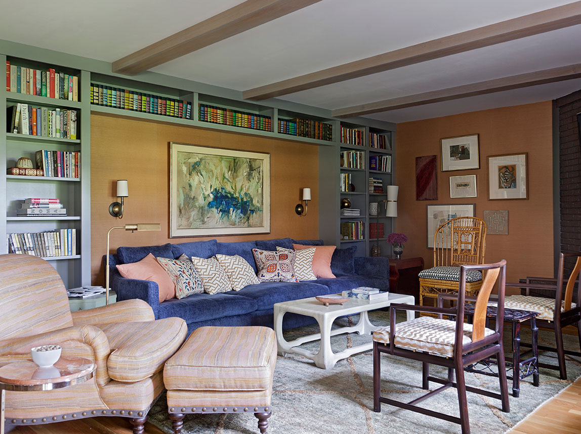 Family room by Angie Hranowsky