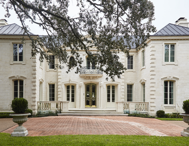 The Bold, Decadent Architecture of a Houston Estate