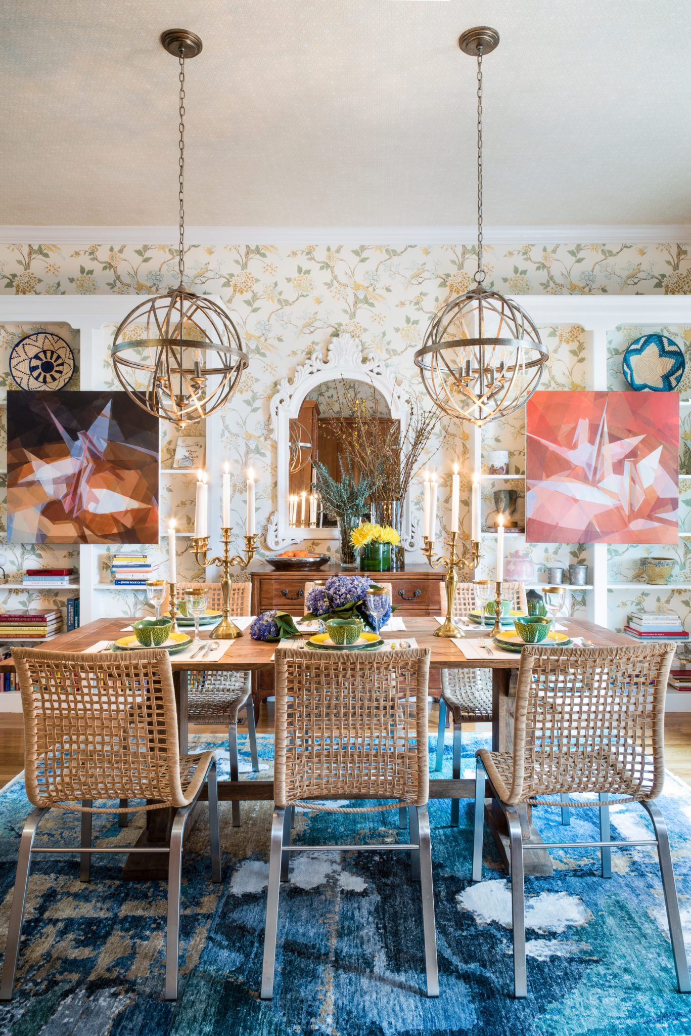"""2. Maximalism   With its heavily decorated rooms, patterned wallpapers, and rich furnishings, maximalist design will remain popular in thenew year, according to interior designerDane Austin, who says that maximalism """"recalls the feeling of Victorian-era rooms.""""  """"The style uses luxe layers and adornments, earthy tones, and a nod to traditional furnishings,"""" Austin says.""""Maximalism has become a trend as we move away from the industrial, reclaimed design that was once a necessity sparked by the downturned economy during the last recession. A decade later, we're in a much better place financially and our interiors reflect that. I love that you can layer a space with many seemingly disparate design elements in a way that feels cohesive and collected over time."""""""