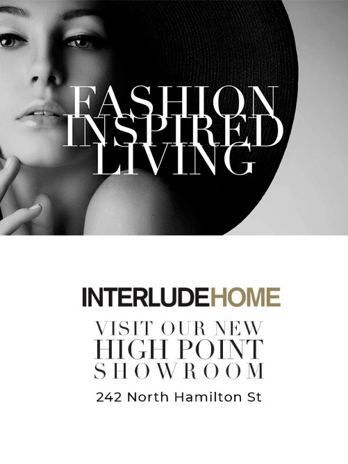 "Interlude Home - 242 North Hamilton St.  Known for their motto of ""fashion-inspired living,"" Interlude Home has transformed over the years with a real focus on evolving trends when it comes to furnishings. Just a decade ago, they were better known for accessories; today, over 90% of their business comes from their furniture line."