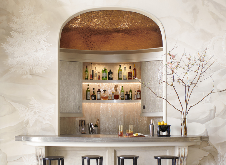 How to Design a Striking, Yet Functional, Home Bar