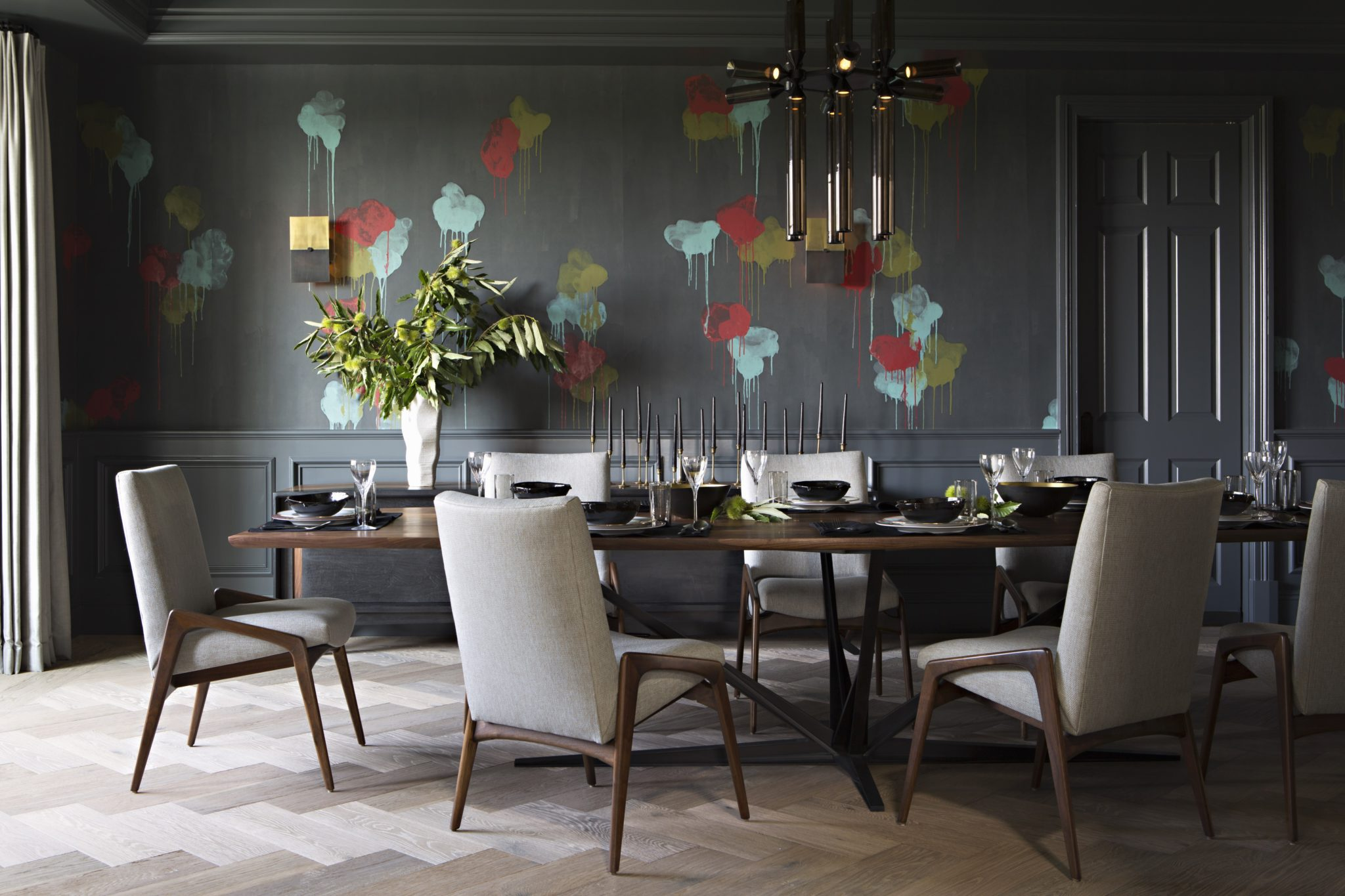 Bel Air Hills Dining by Jackson Paige Interiors