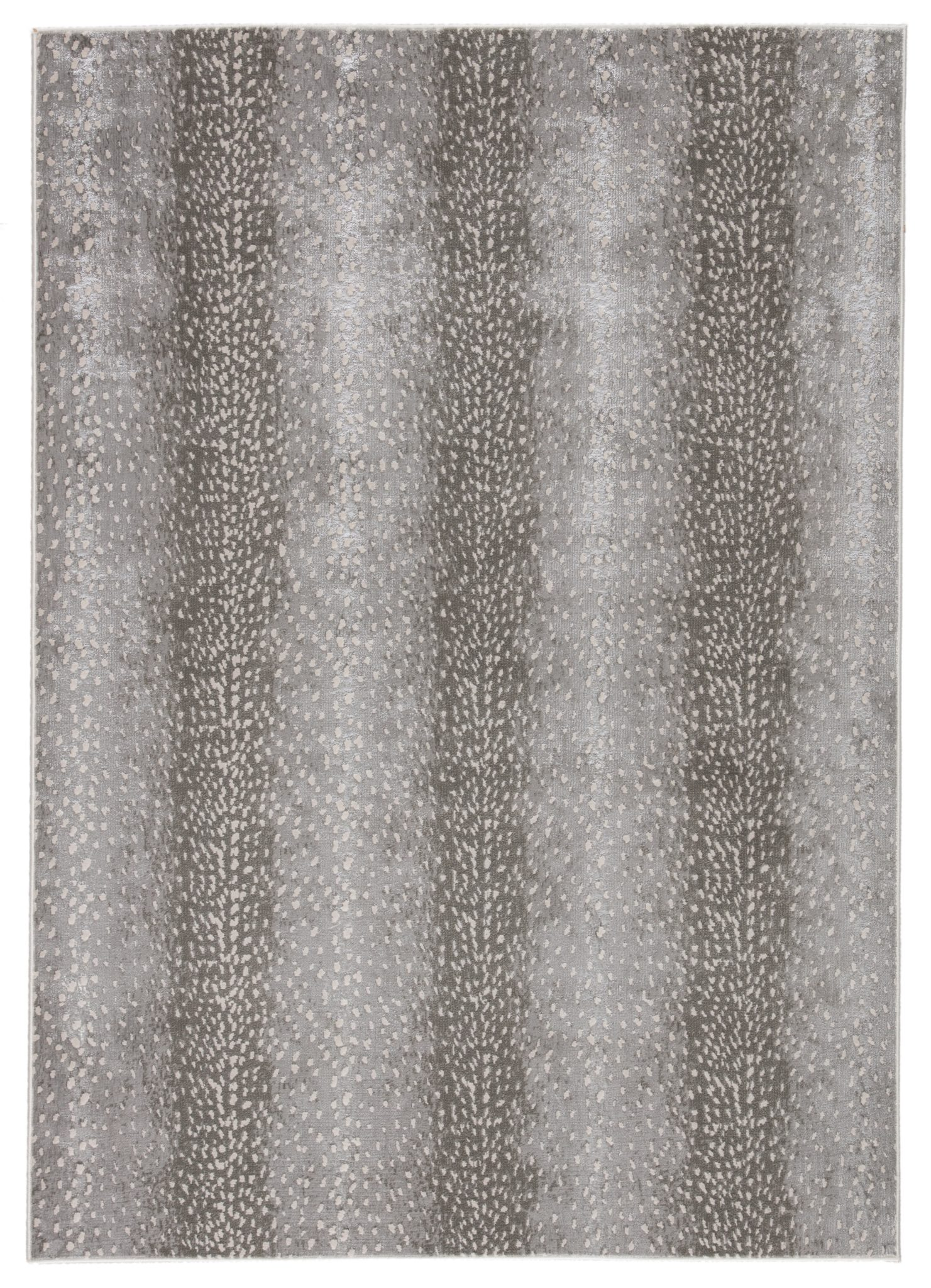 The lustrous, hi-lo pile animal print Axis rug is part of Jaipur Living's Catalyst collection.