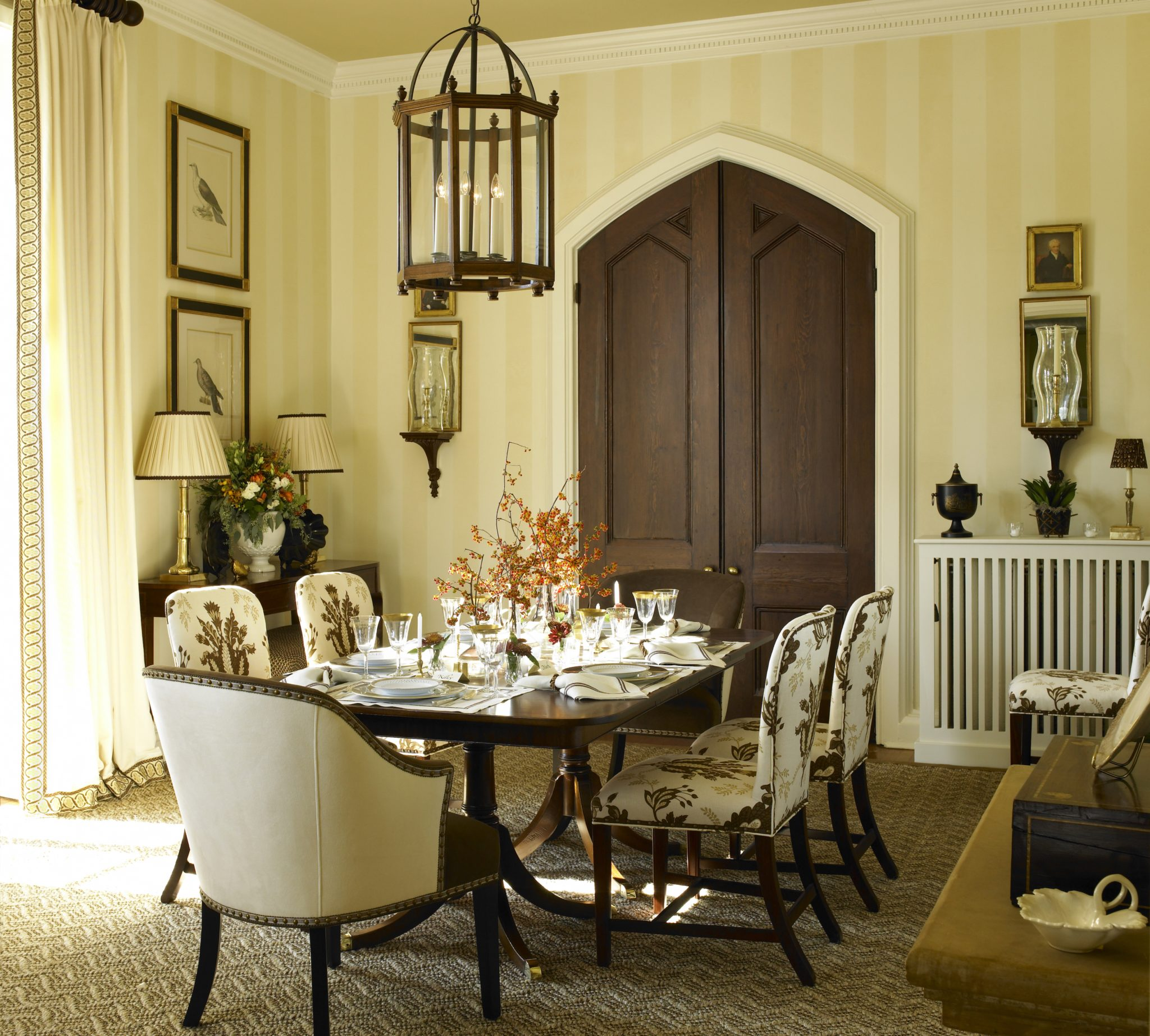 Kelley Interior Design Dining Room by Kelley Proxmire, Inc.