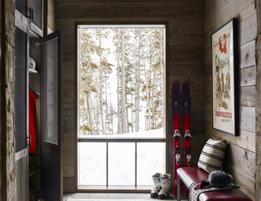 Tour a Charming Ski Chalet in the Mountains of Montana
