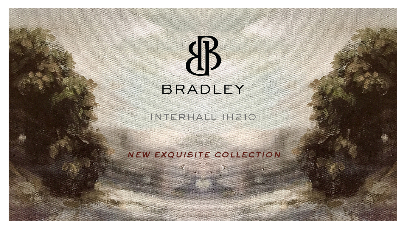 BRADLEY - IHFC - IH210, Commerce, Floor 1  Specializing in artisan-crafted, American-made furnishings, lighting, and accessories, BRADLEY is a chic, innovative trade-only firm. Known for its unique materials and artisan, hand-applied finishes, BRADLEY creates top-of-the-line custom furnishings for residential and hospitality projects alike.