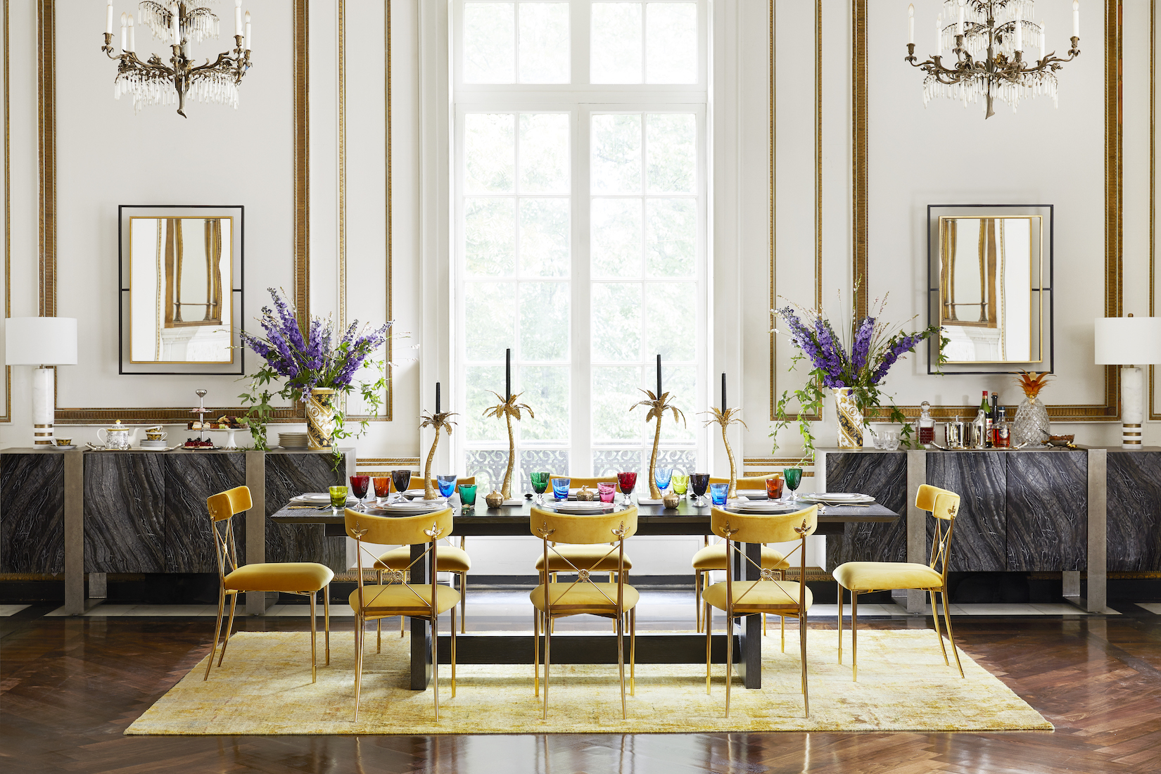 Bloomingdale's Mix Masters Fall 2019 - Dining Room by Bennett Leifer Interiors