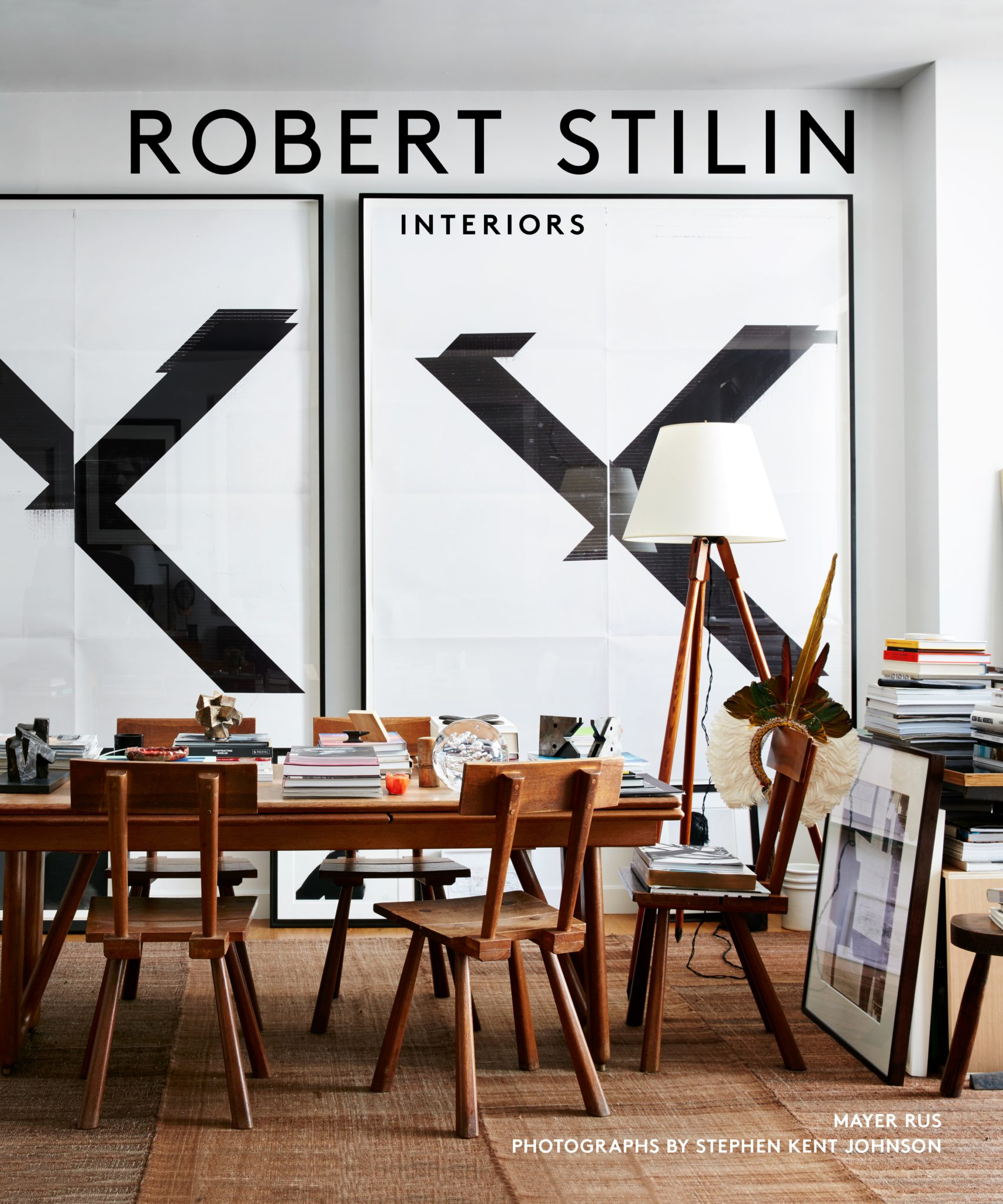 The designer's new book, Robert Stilin: Interiors, published by Vendome Press.