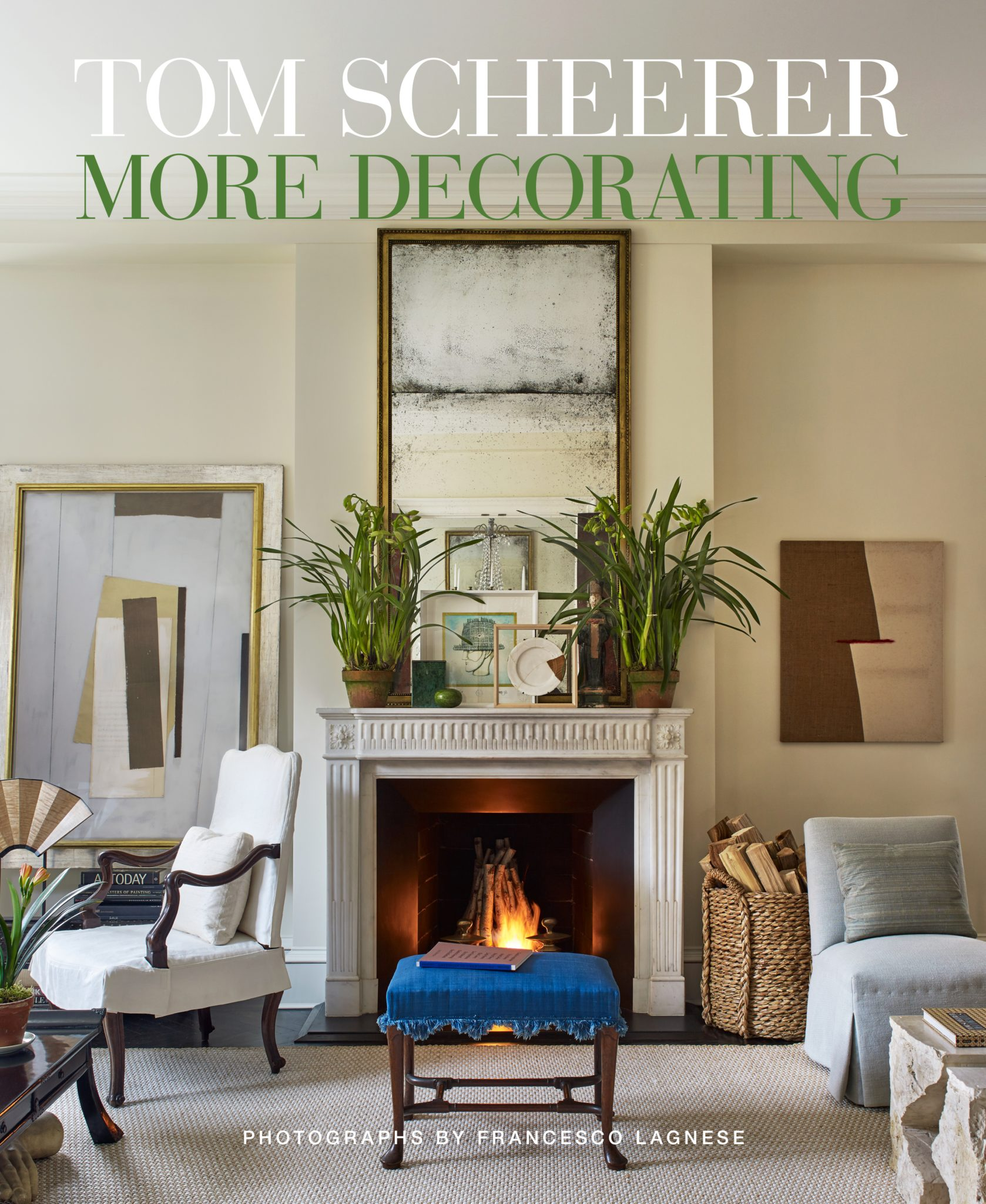 The cover of the designer's latest book, More Decorating, published by Vendome.