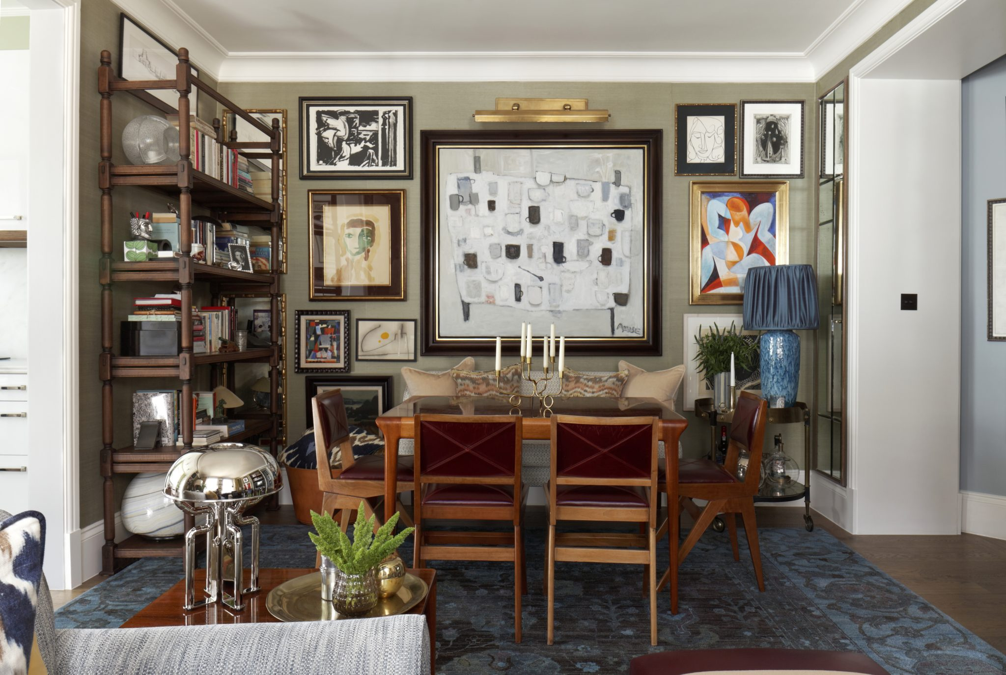 Private Residential Living Room by Martin Brudnizki Design Studio