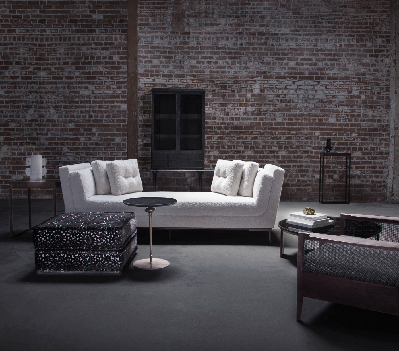 Blending their disparate backgrounds in classical furniture design and punk rock fashion, partners Scott Baker and Mary Ann Hesseldenz developedBaker Hesseldenz Studioto create sophisticated pieces across a variety of categories, including seating, cabinetry, and tables.
