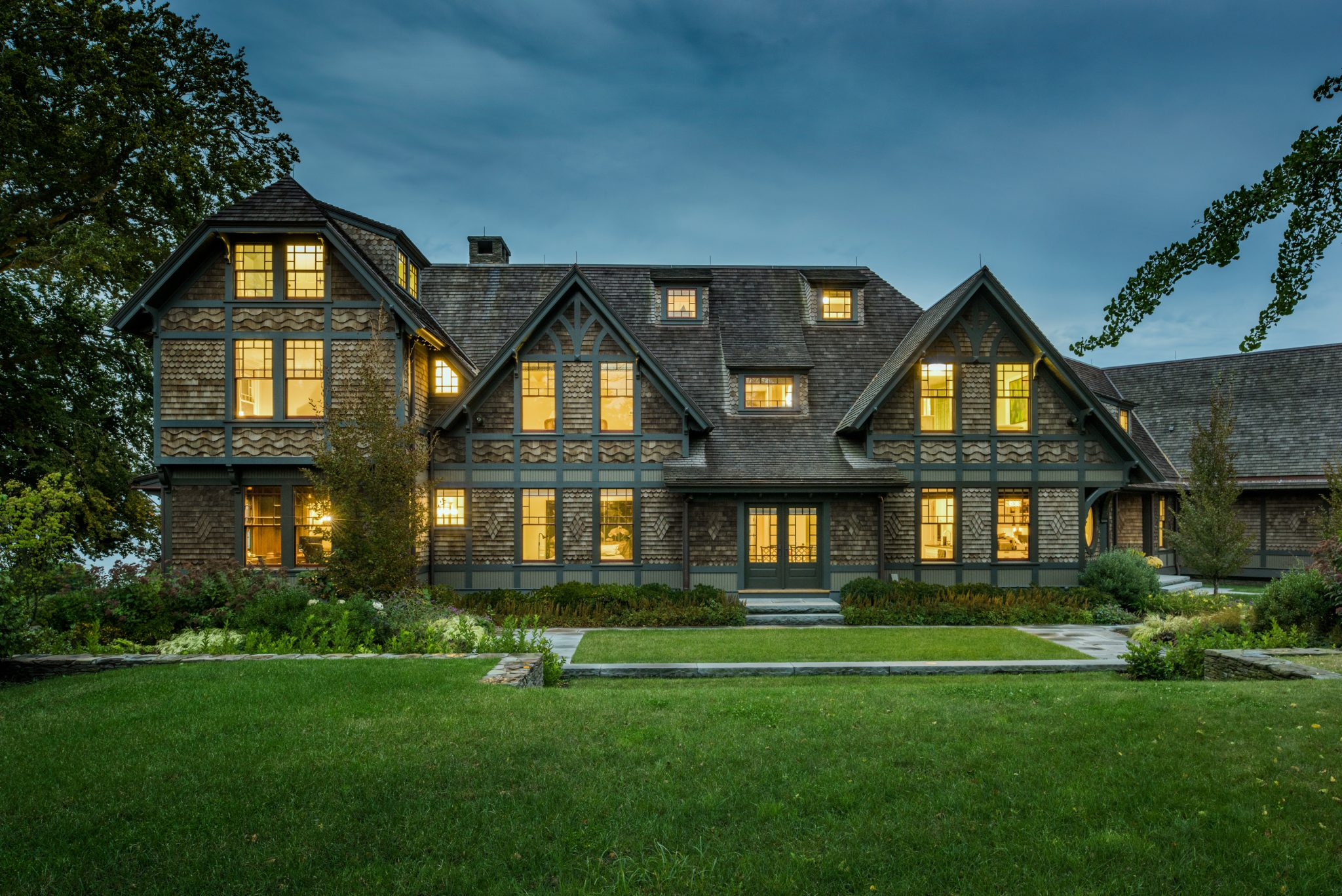 "Front Elevation ""Boothden"" Renovation & Addition 