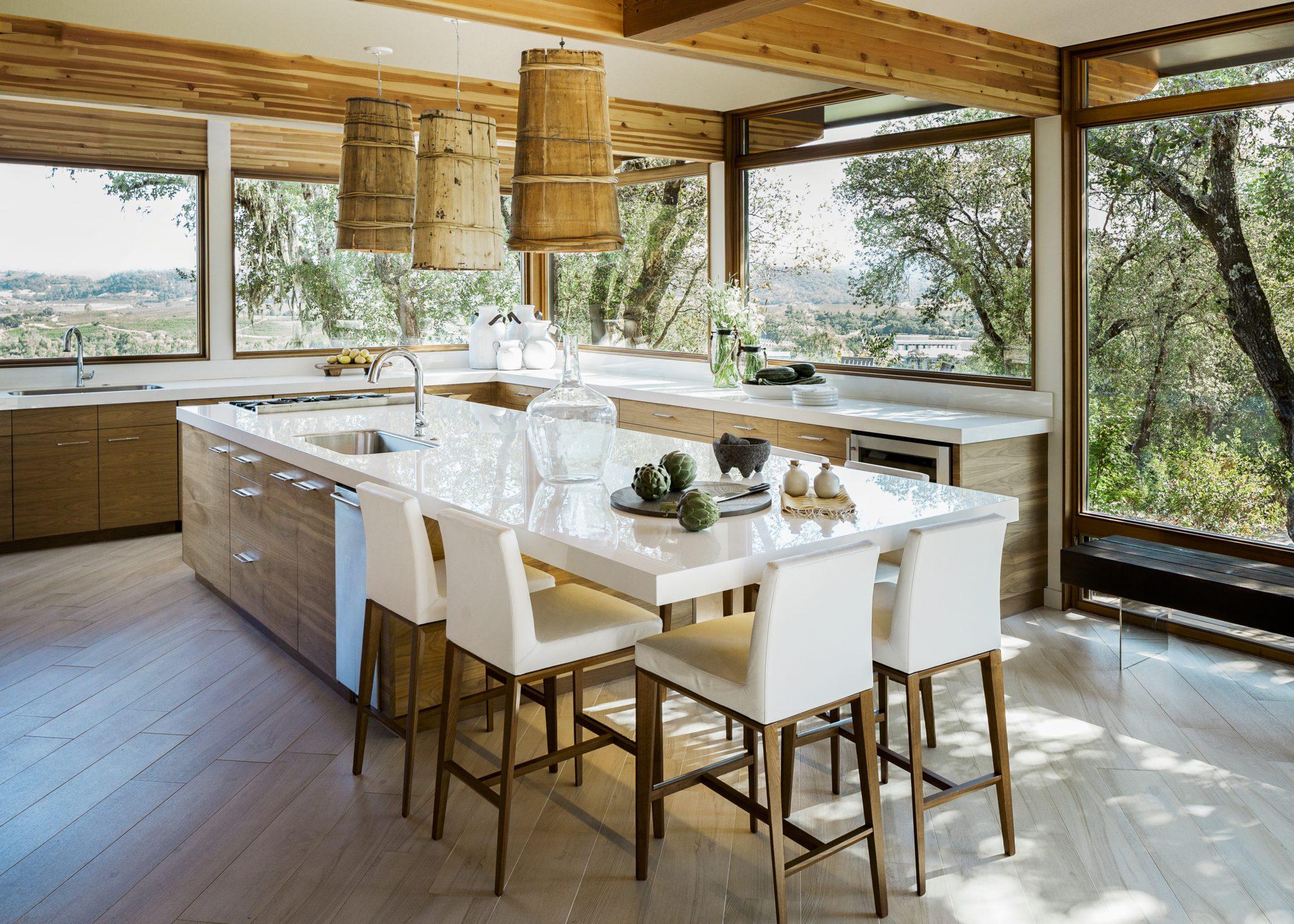"""Organic Modern"" kitchen. by MAS Design"