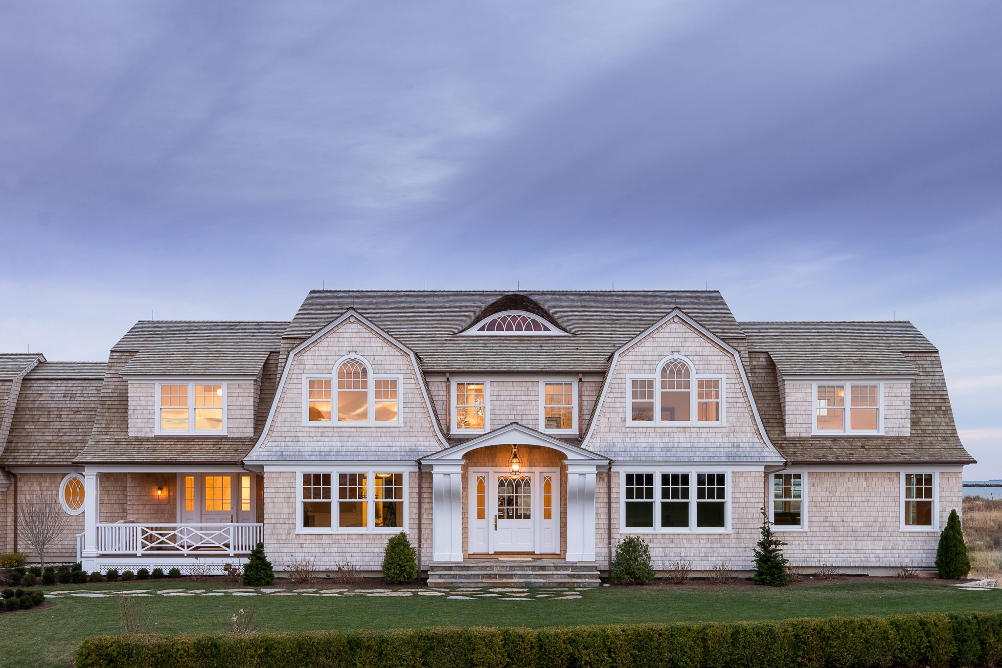 Queen Anne Shingle Style Beach House by Interior Archaeology