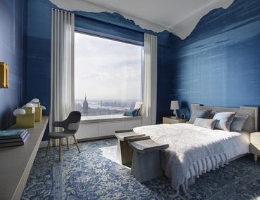 Deep Blue Bedroom Designs