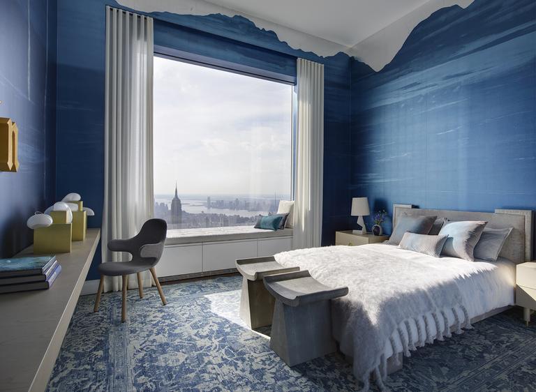 Deep Blue Bedroom Designs