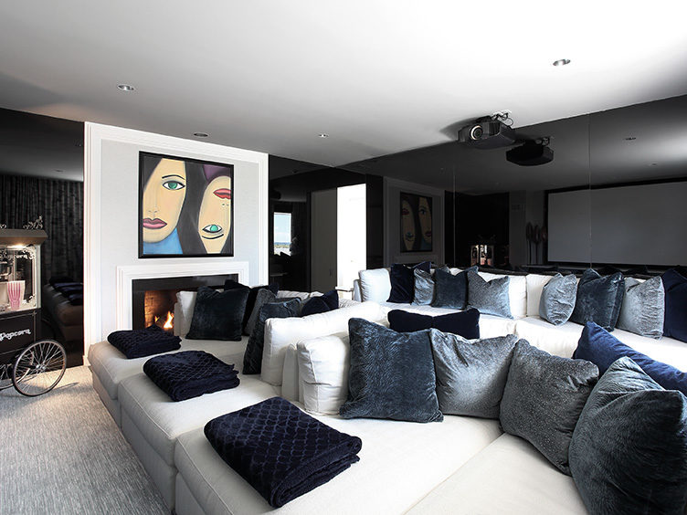 Ideas For Designing Gorgeous High Tech Media Rooms Chairish Blog