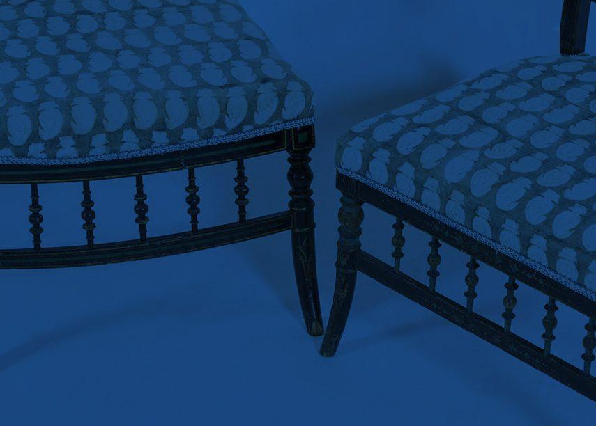 Blue Antique Furniture on Chairish